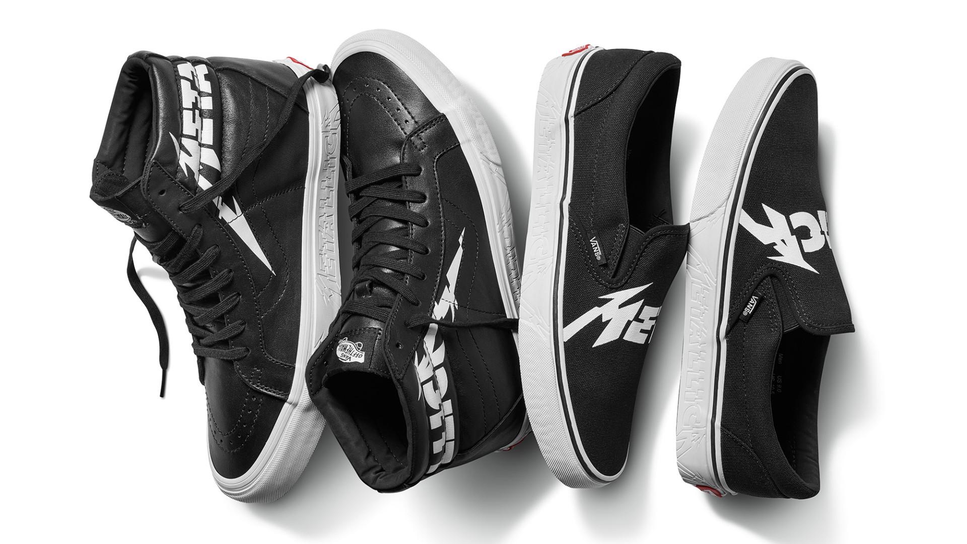 Fãs de Metallica: Esta coleção da Vans é limitada