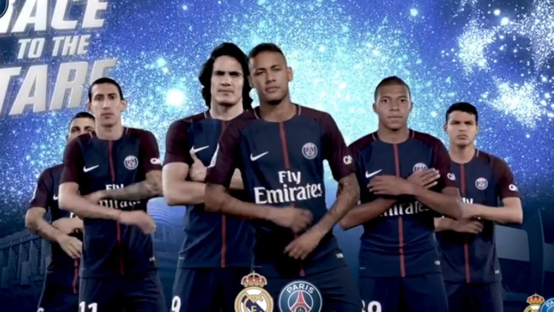 """Real Madrid-PSG? """"Estamos prontos"""", garantem parisienses"""