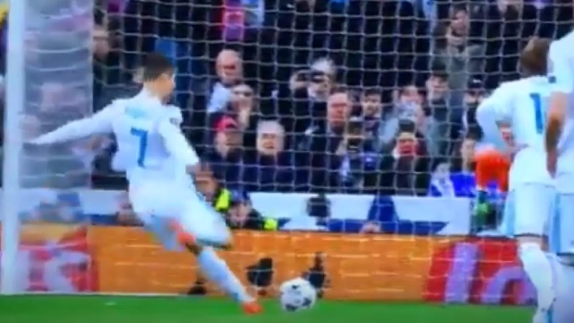 Grande penalidade de Cristiano Ronaldo gerou polémica