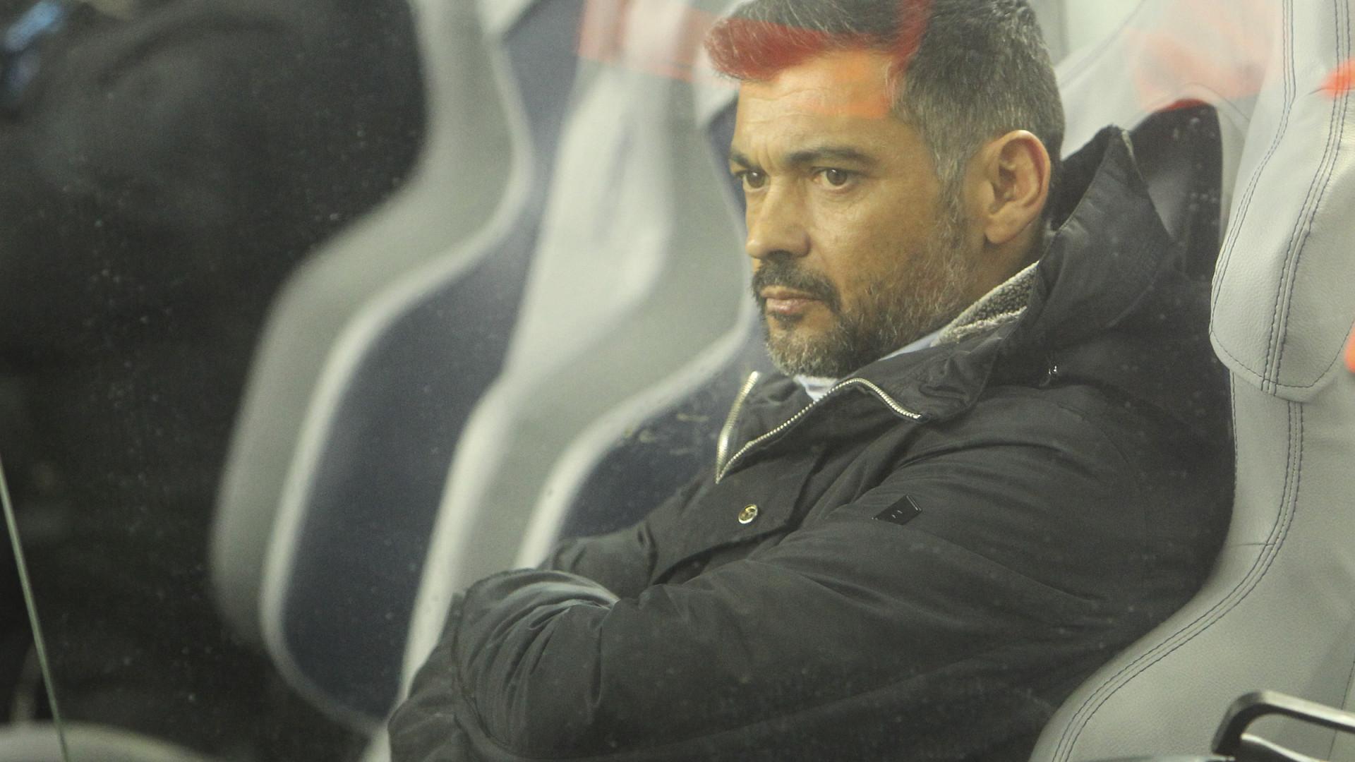 As dores de cabeça que Conceição tem para Portimão (e para o Clássico)