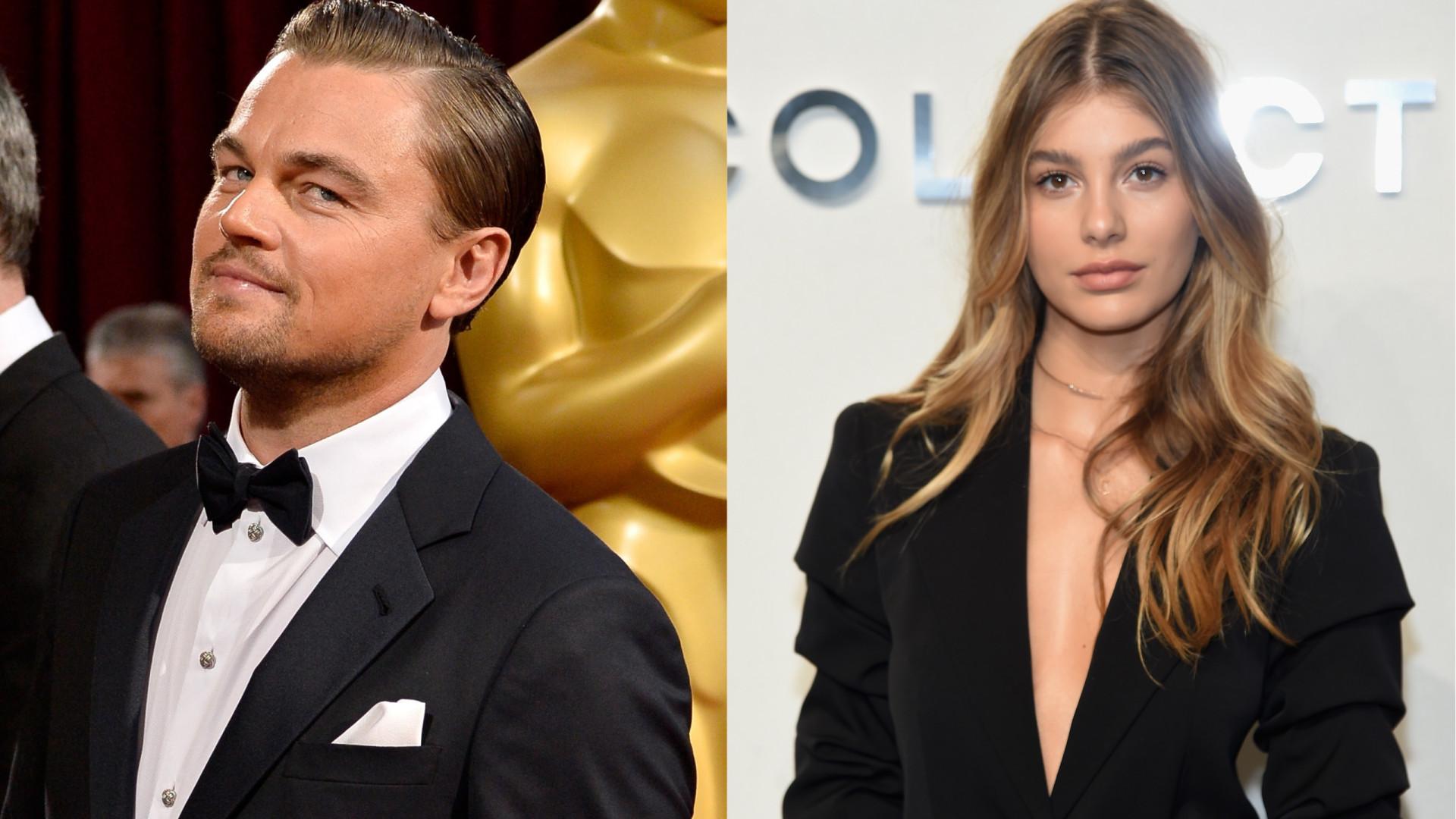 DiCaprio 'apanhado' pela primeira vez com namorada 23 anos mais nova