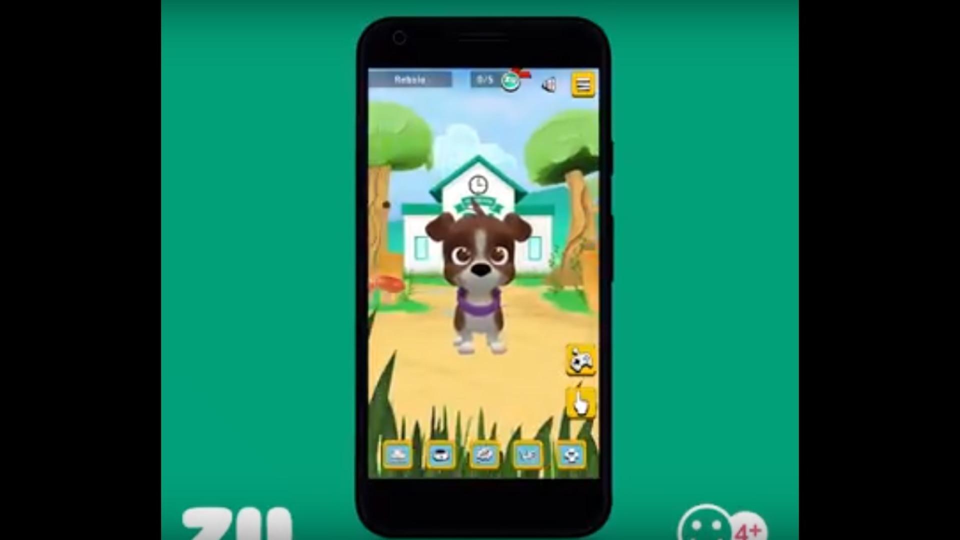 Academia ZU, a app que ajuda os mais pequenos a cuidar dos amigos patudos
