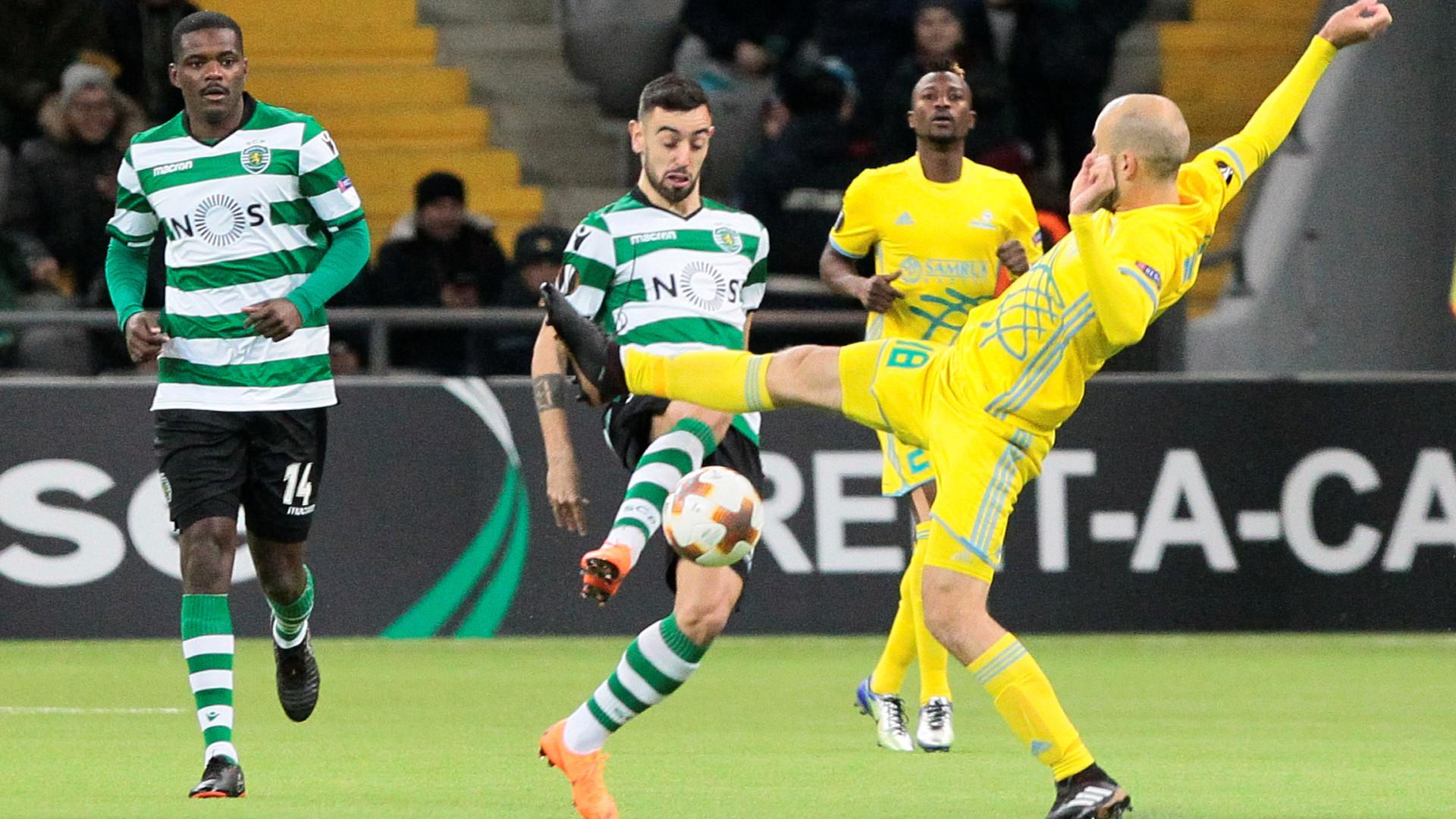 Leão 'devora' cazaques e regressa a Lisboa com vantagem confortável