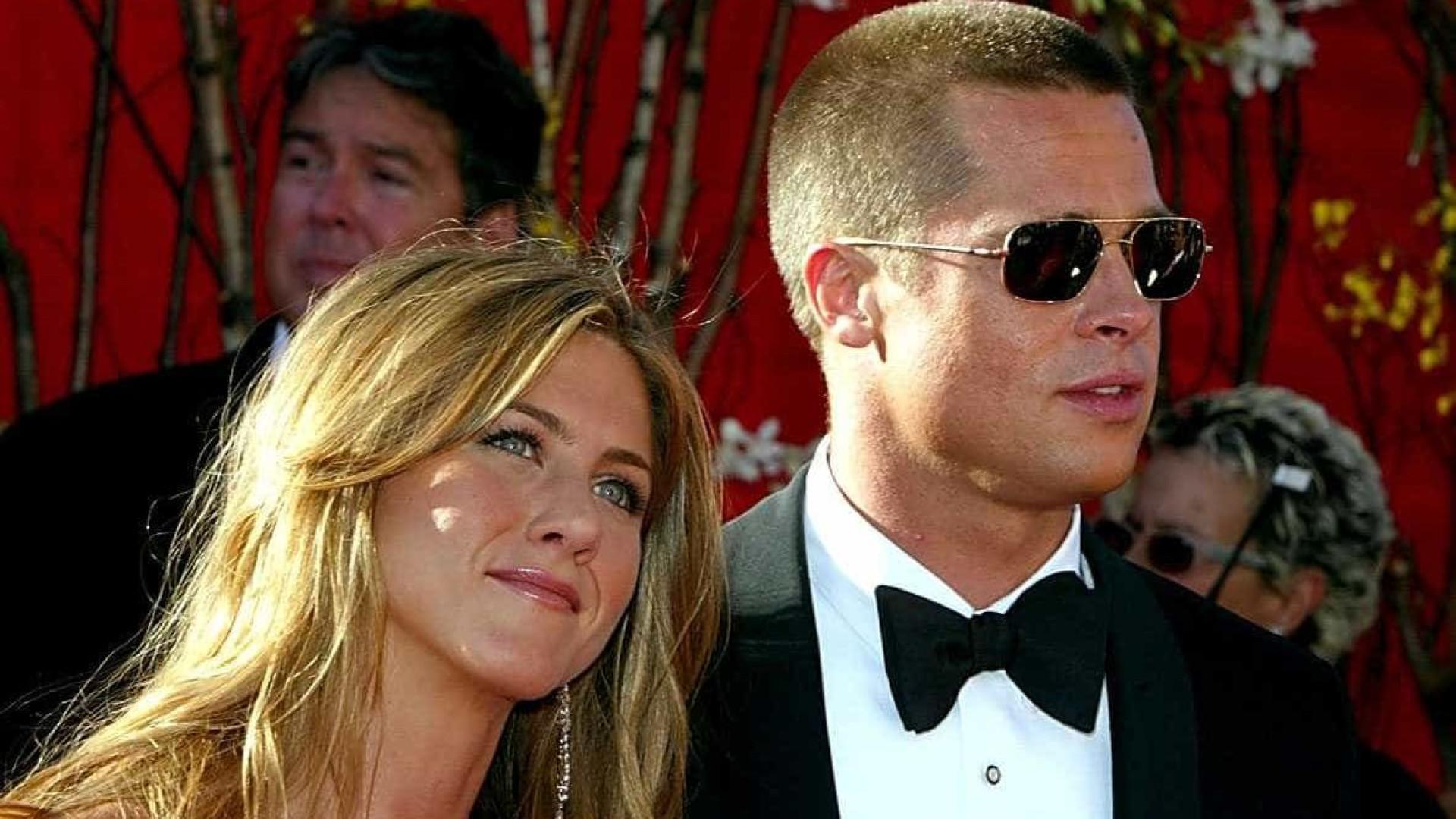 George Clooney está a tentar juntar Brad Pitt e Jennifer Aniston