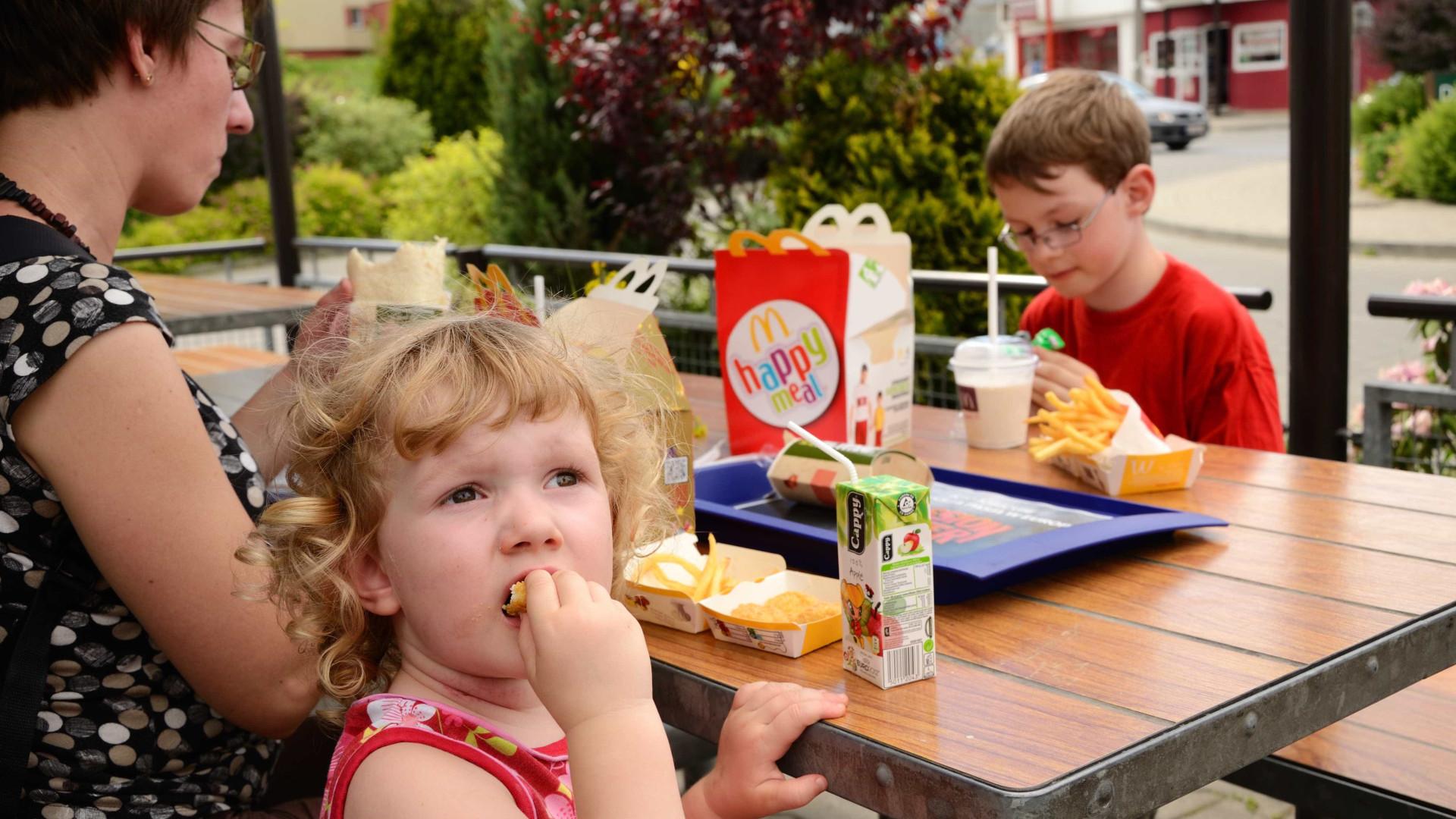A McDonald's quer tornar o Happy Meal mais saudável