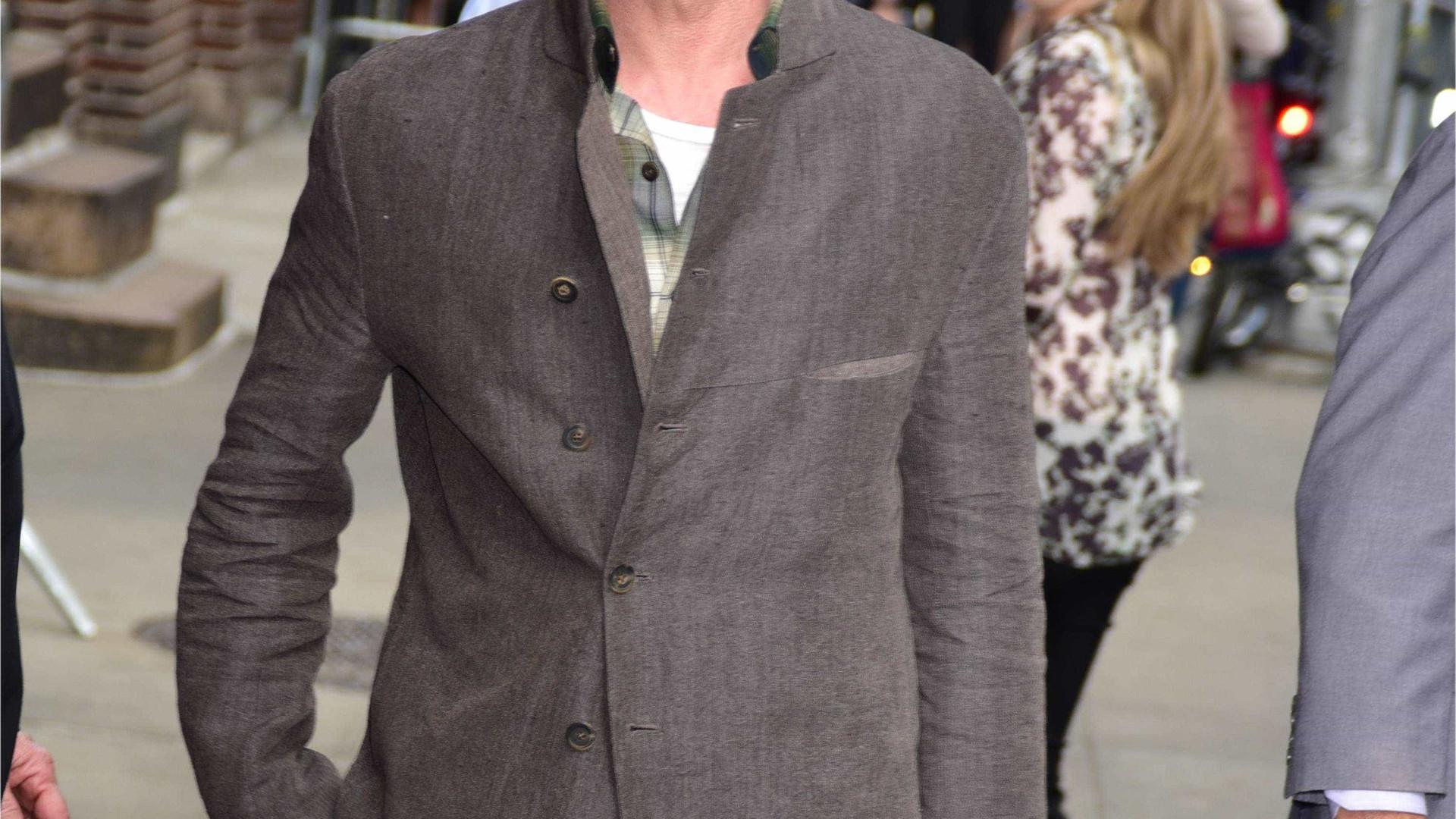 """Brad Pitt já começou a """"recuperar"""" da depressão causada pelo divórcio"""