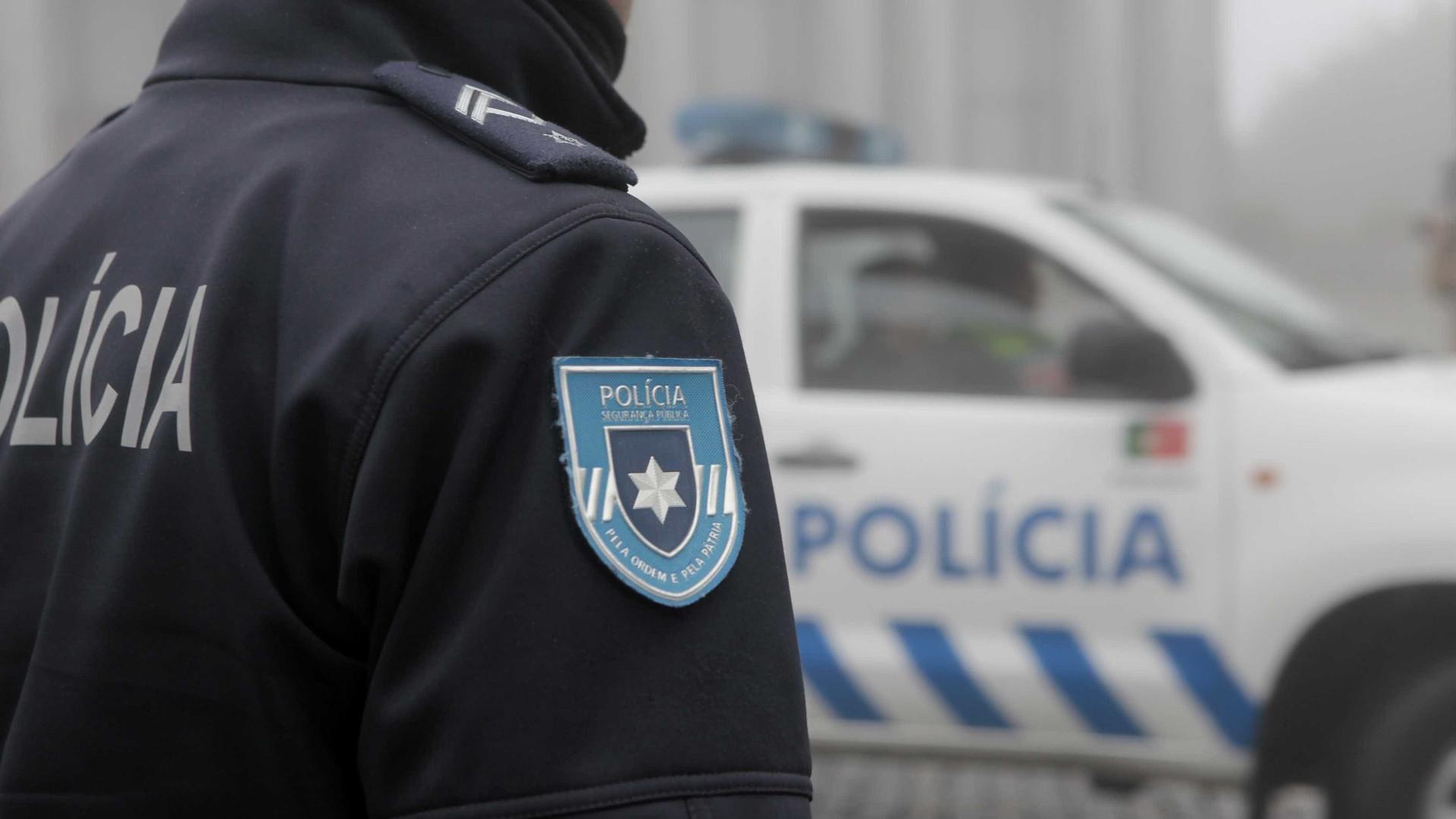 Figueira da Foz: Tentou fugir à PSP porque tinha armas no carro