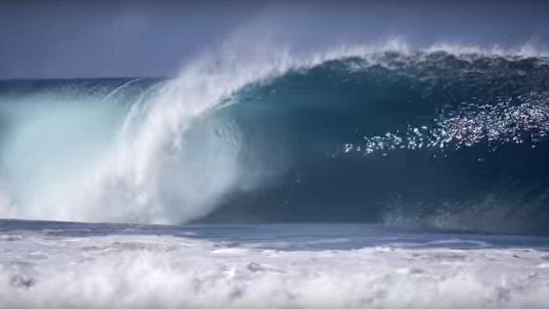 Respire fundo para ver as quedas mais terroríficas nas ondas do México