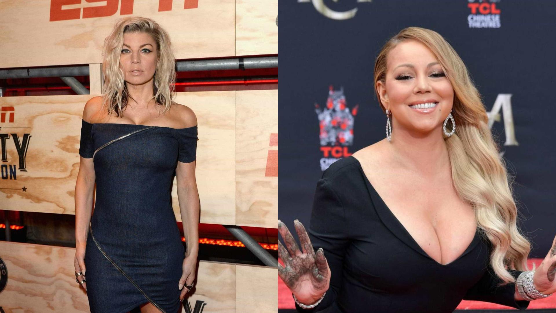 Mariah Carey mostra-se solidária com Fergie