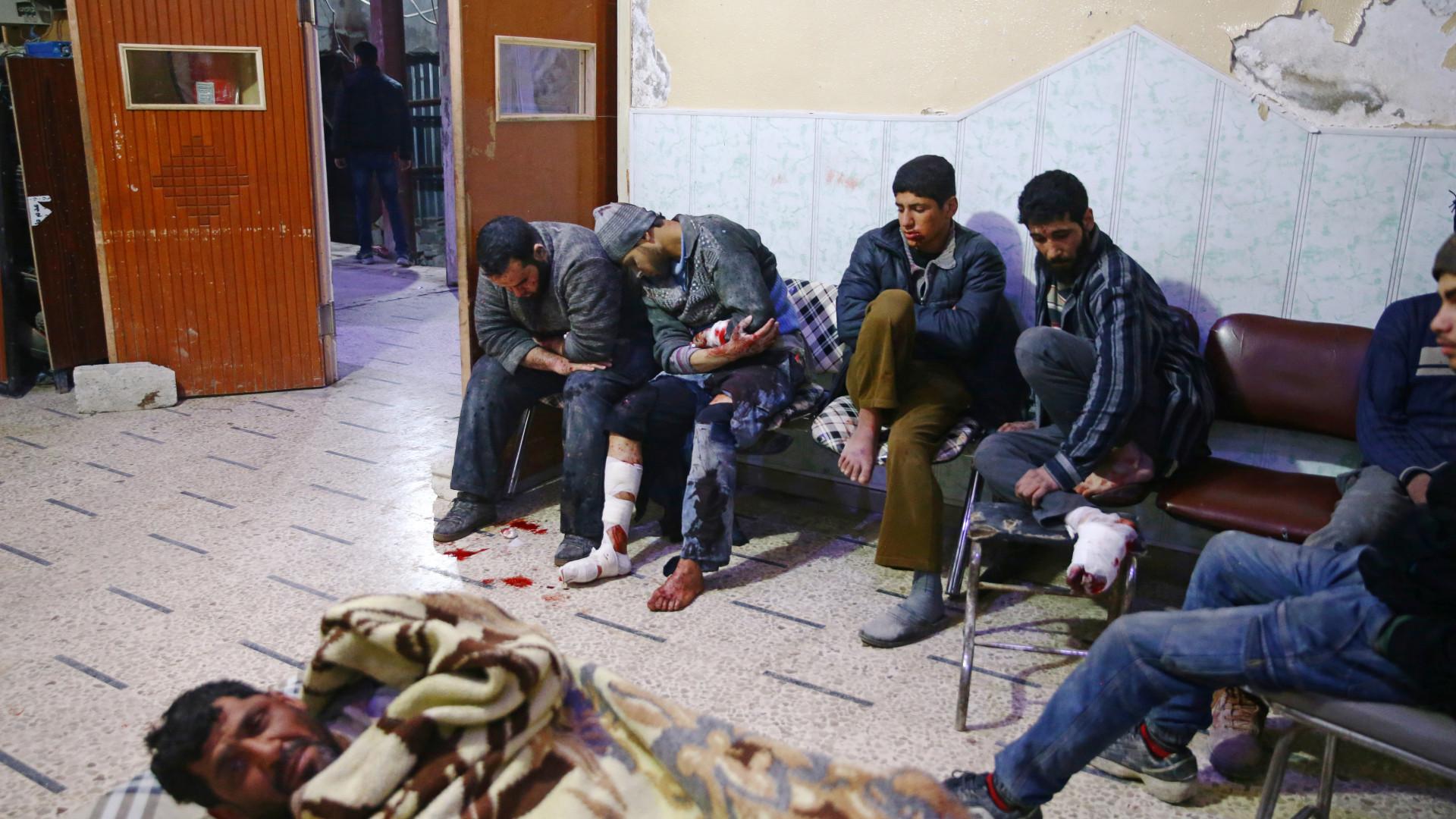 Crescente Vermelho prepara retirada de doentes de Ghouta oriental