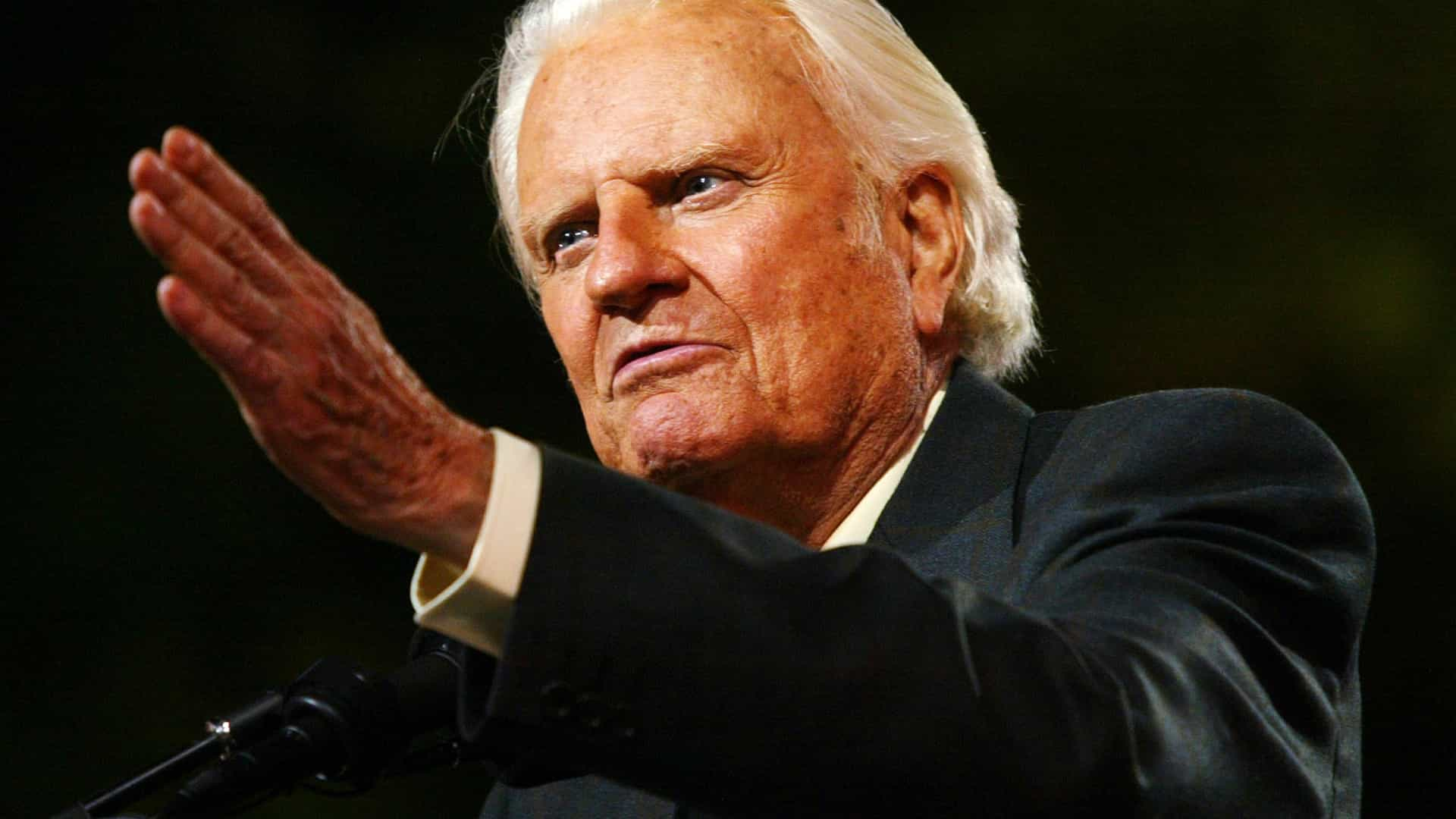 Morreu Billy Graham, pregador religioso e conselheiro de presidentes