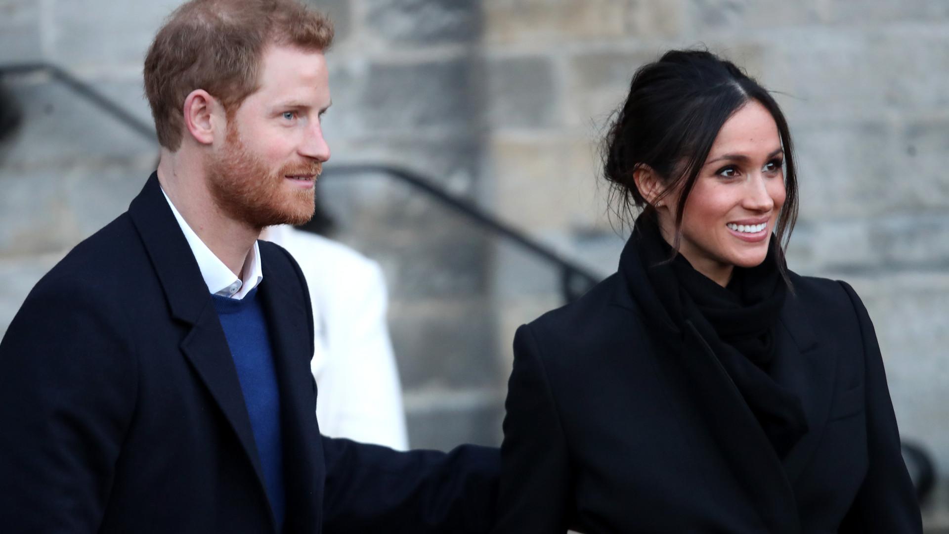 Príncipe Harry e Meghan Markle assustados após 'ameaça' de envenenamento
