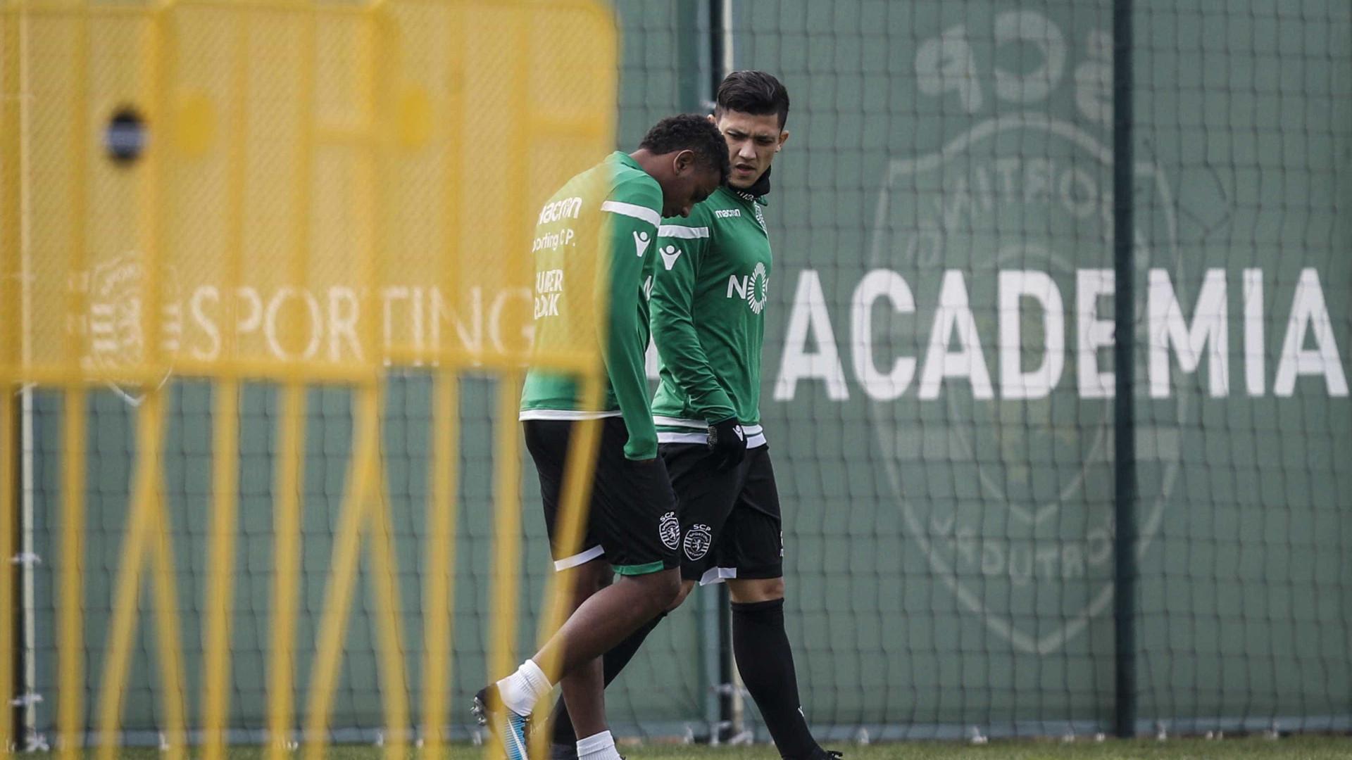 Brasileiros dizem que Wendel está insatisfeito em Alvalade