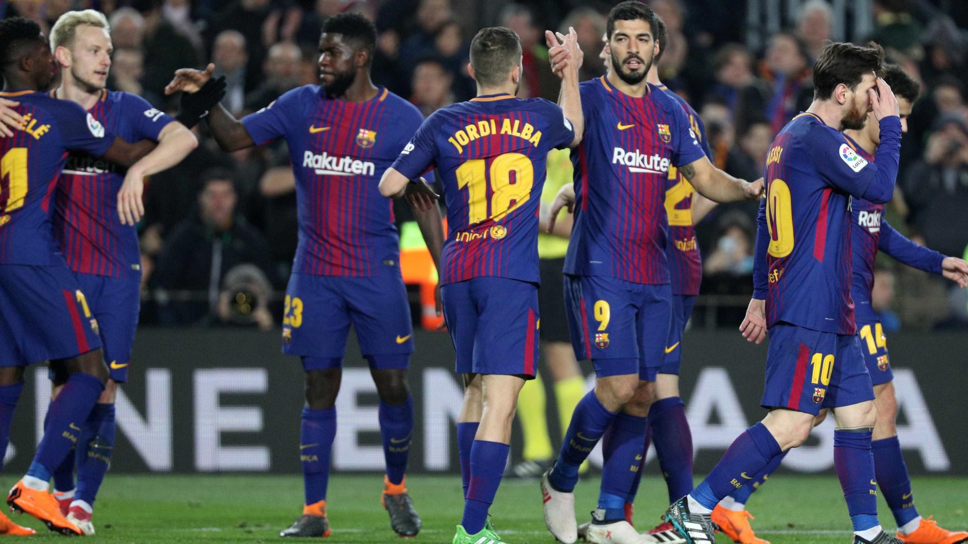 Barcelona impõe 'chapa 6' no dérbi com Girona