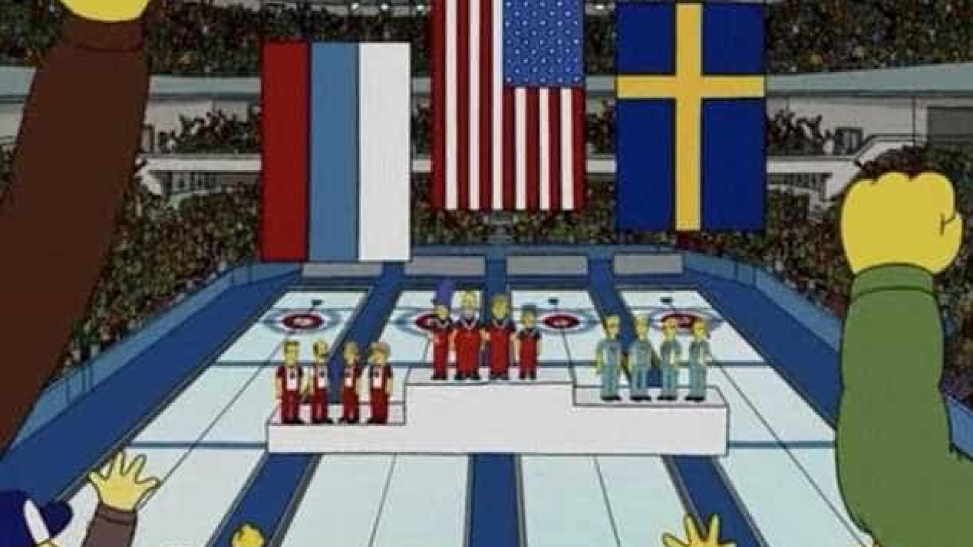Há oito anos 'Os Simpsons' previram algo que aconteceu ontem