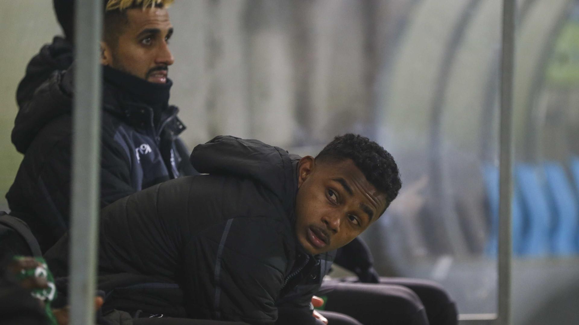 Sporting pediu calma a representantes de Wendel
