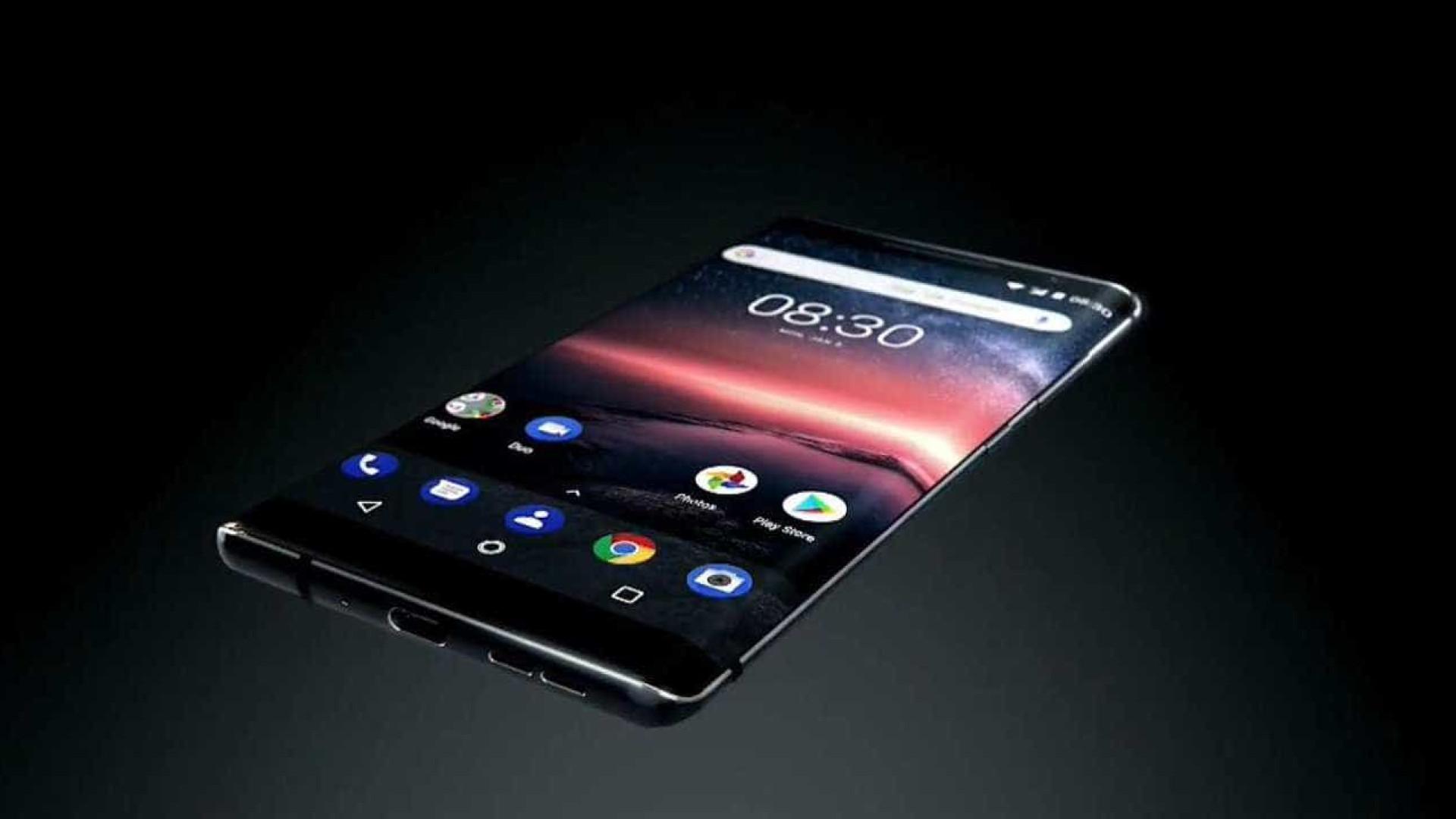 Eis o Nokia 8 Sirocco, o topo de gama que o pode surpreender