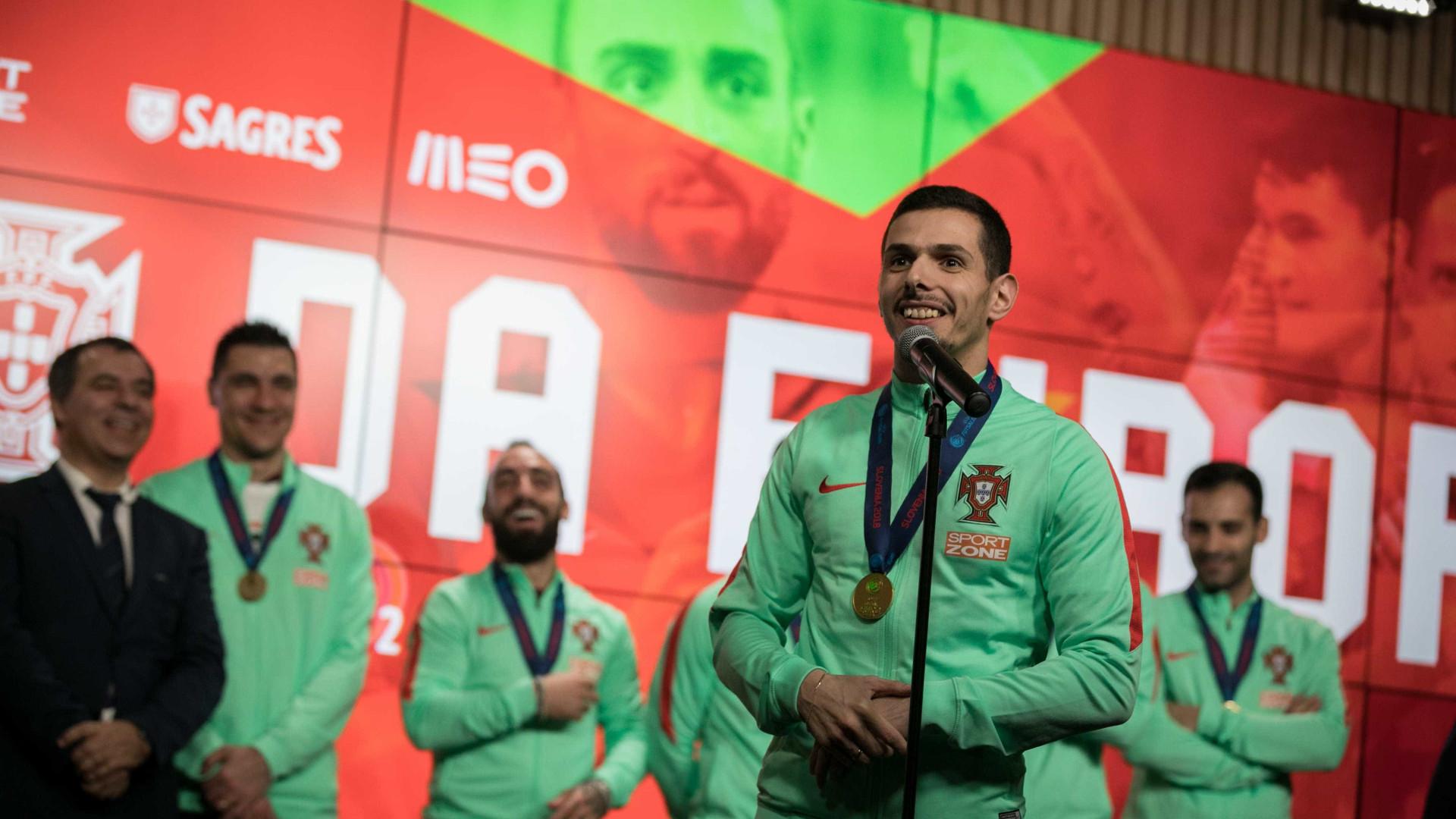 """""""É gratificante dizer ao meu filho que sou Campeão Europeu"""""""