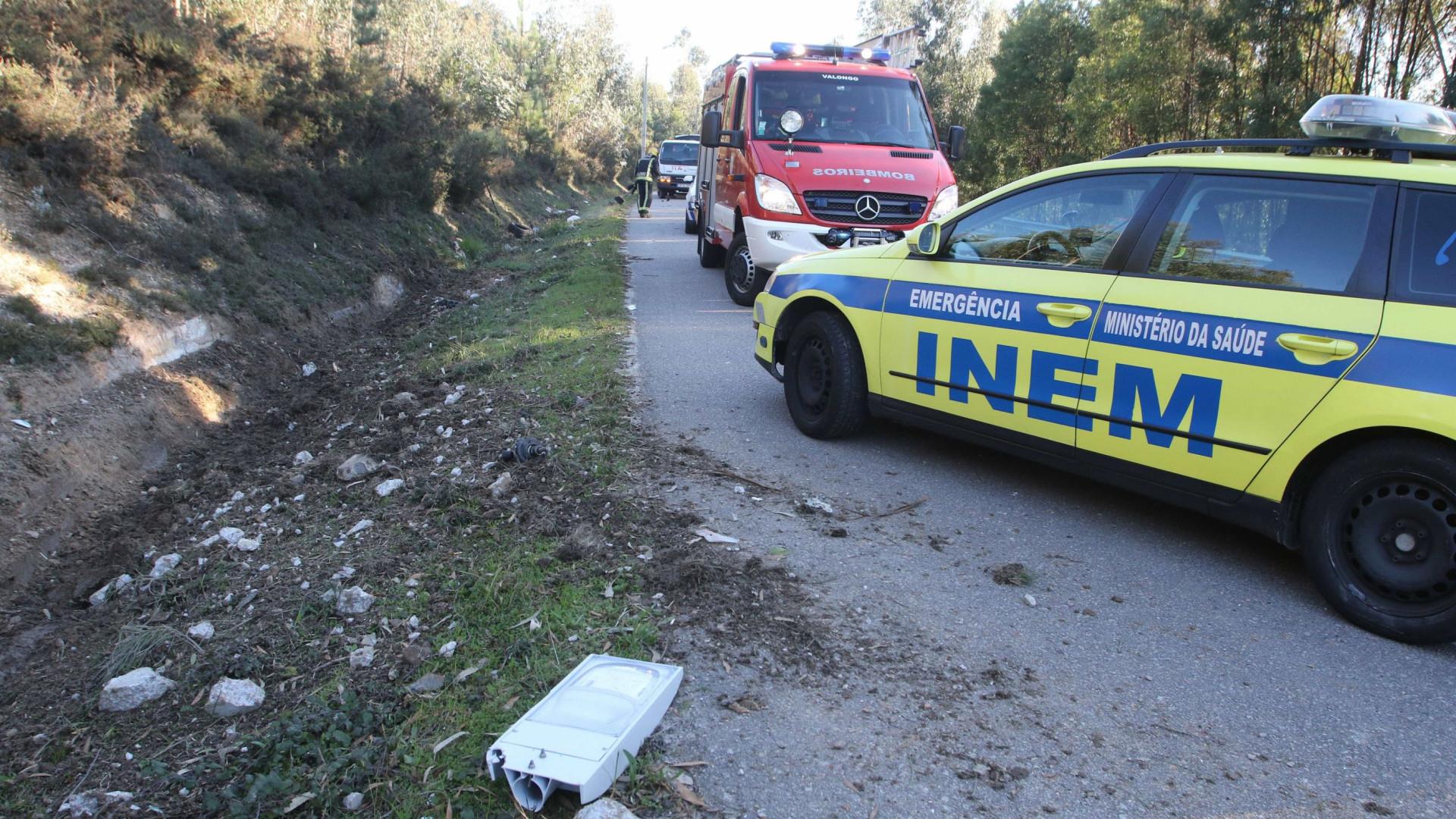 Explosão pirotécnica em Penacova faz um morto e três feridos graves