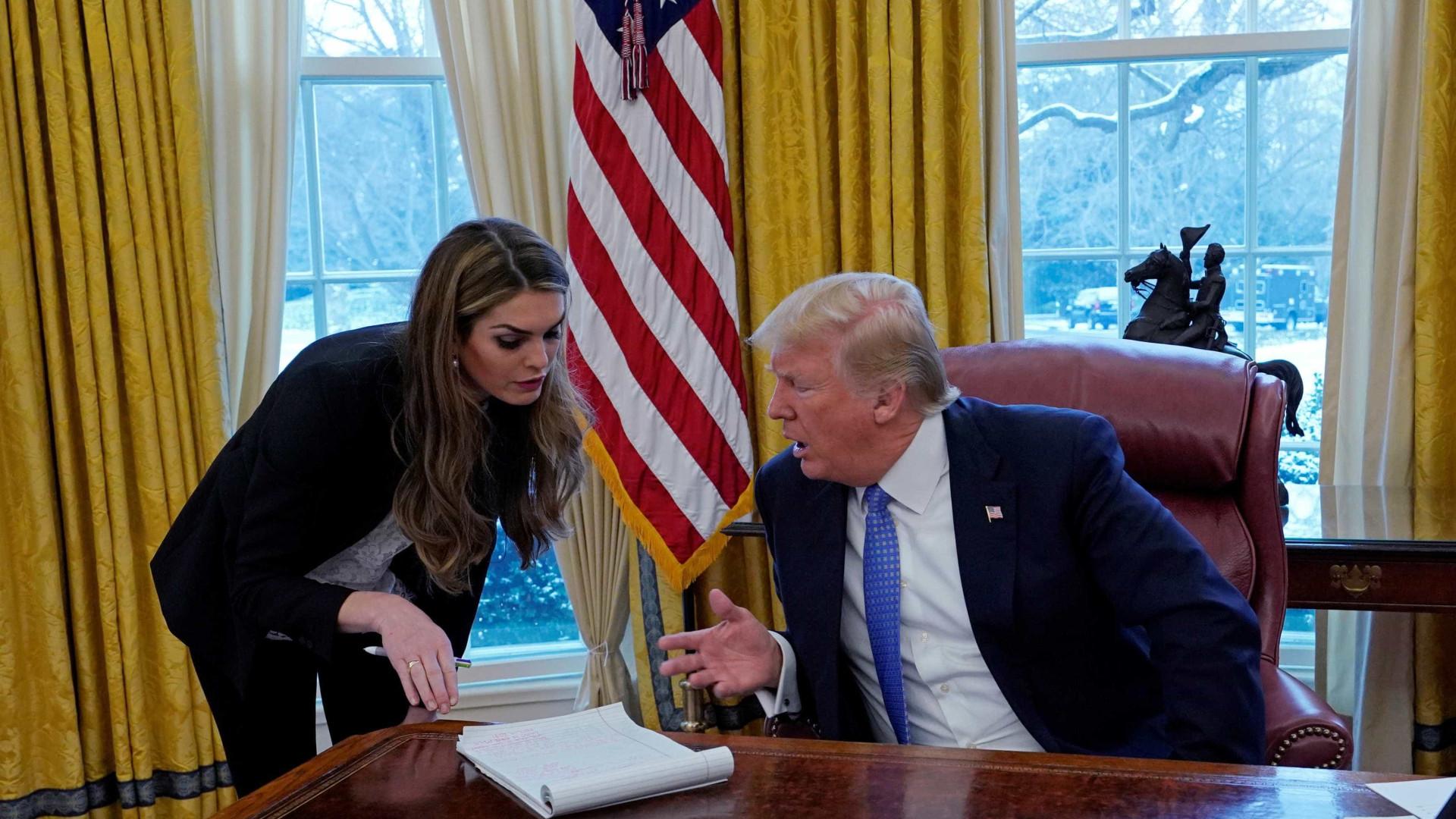 Mais uma baixa na Casa Branca. Fiel assessora de Trump de saída