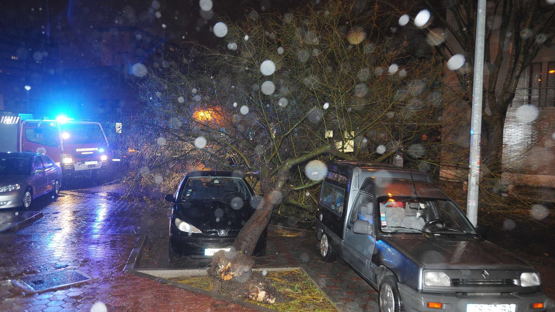 """Tempestade está a entrar entre Figueira da Foz e Aveiro"""