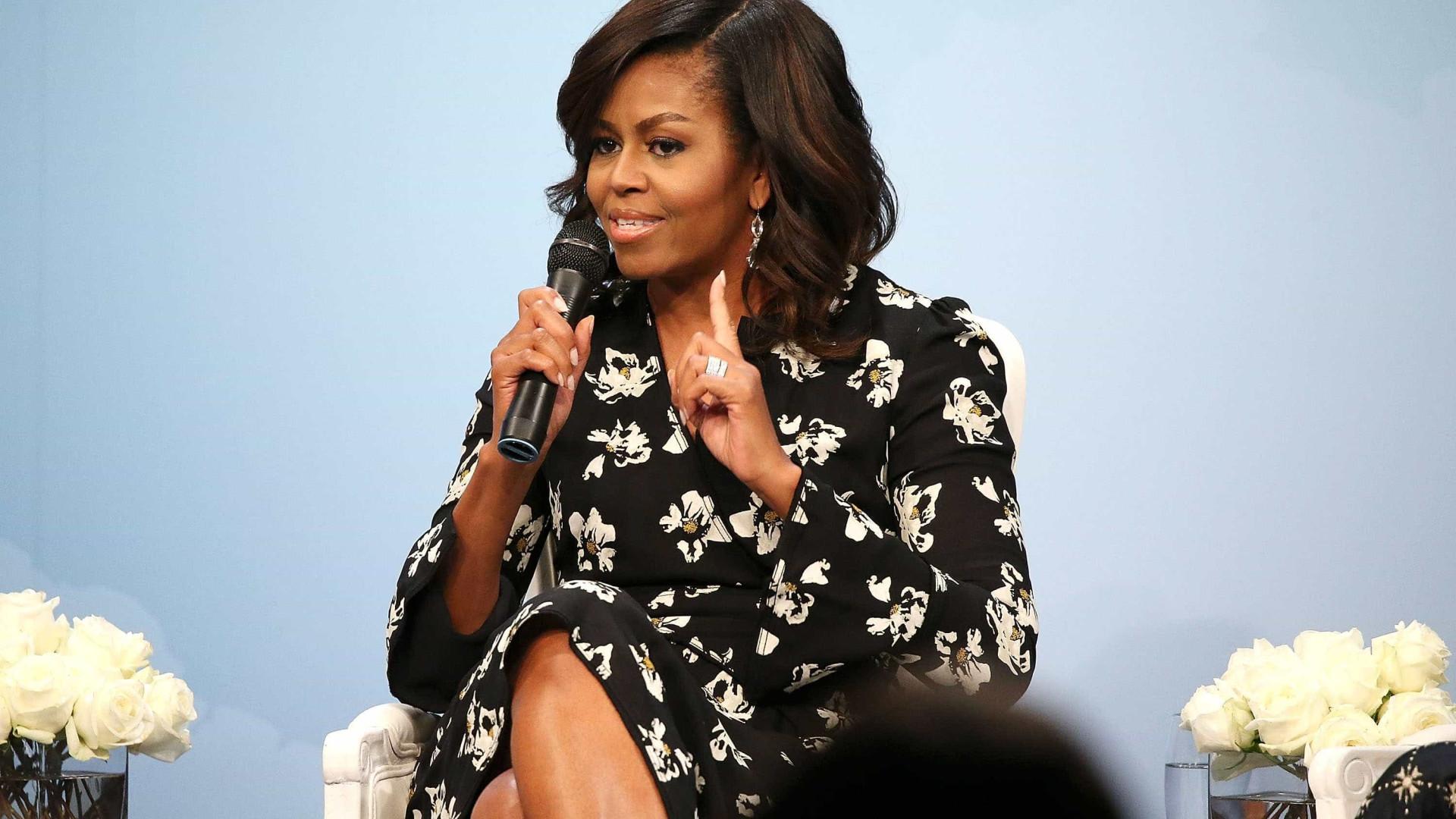 """Michelle Obama volta a garantir: """"Não me vou candidatar a presidente"""""""