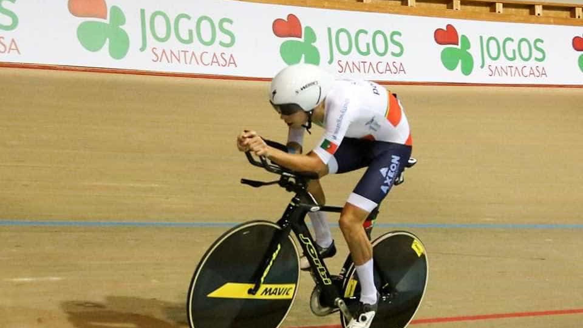 Ivo Oliveira é vice-campeão do mundo de ciclismo de pista