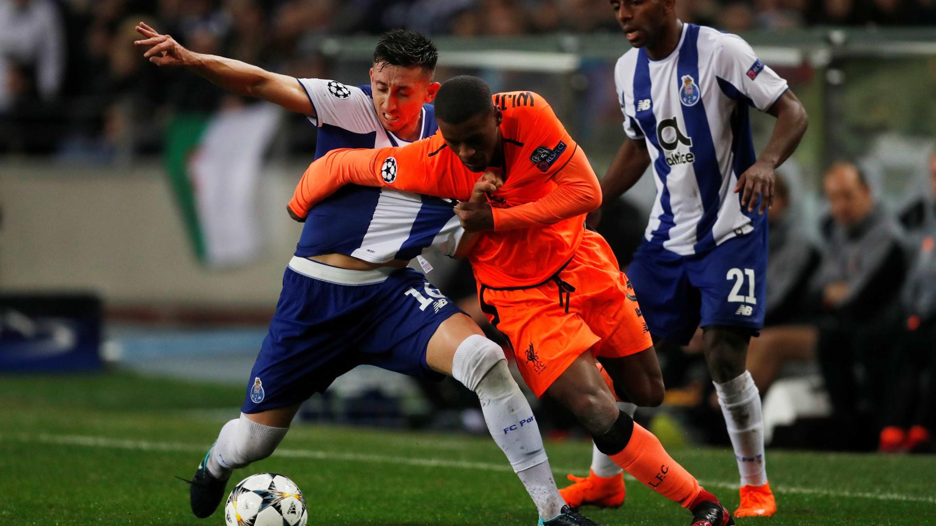 Sérgio Conceição promete FC Porto sem medo e motivado contra Liverpool