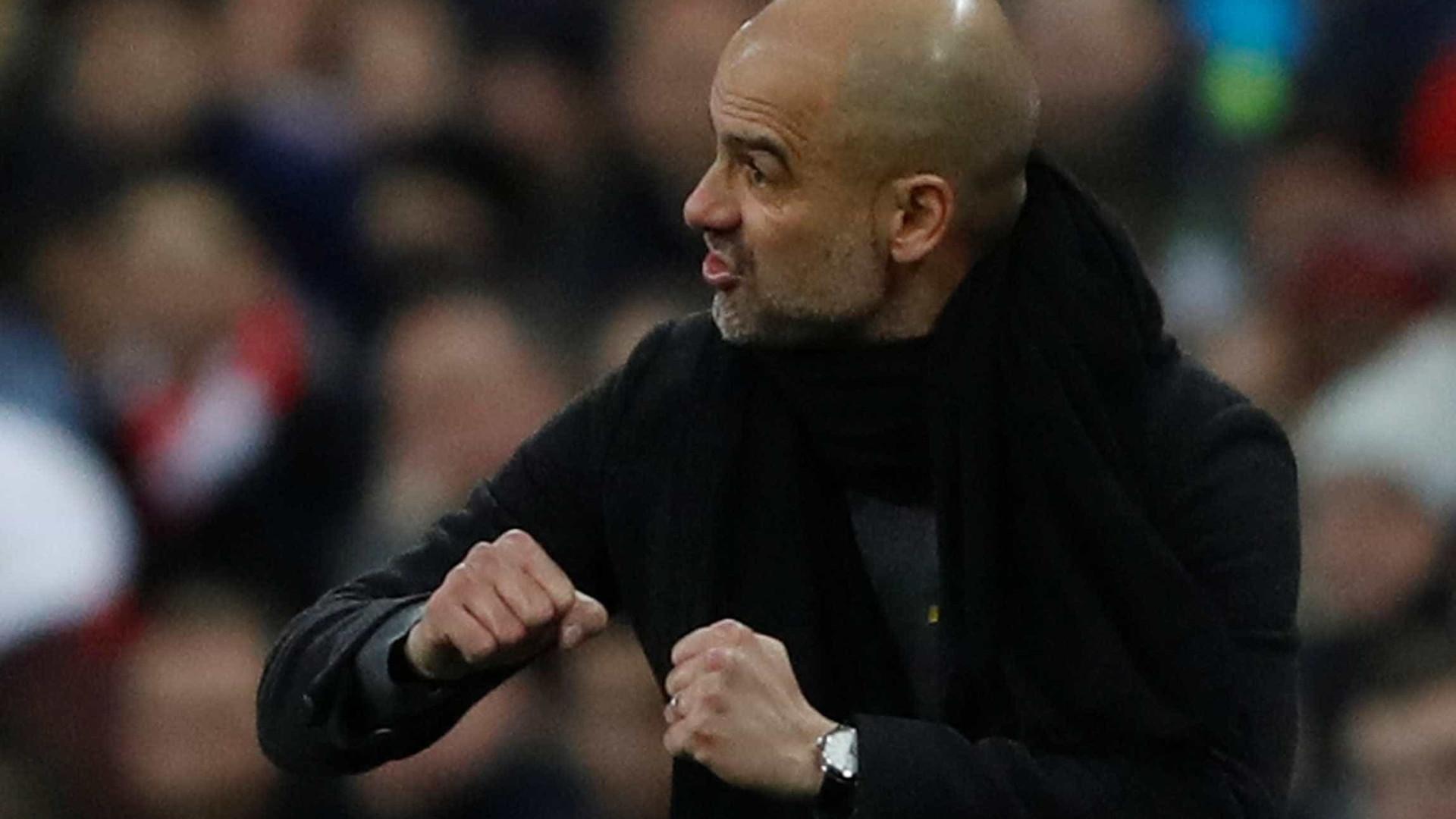 O 23.º título que coloca Guardiola no top-5 dos treinadores europeus