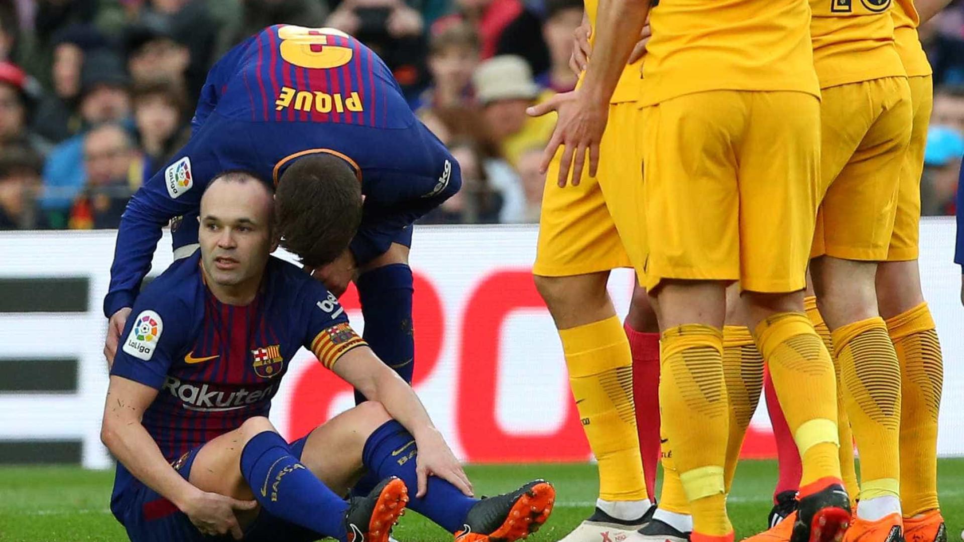 Messi aumenta a distância entre Barcelona e Atlético para 8 pontos