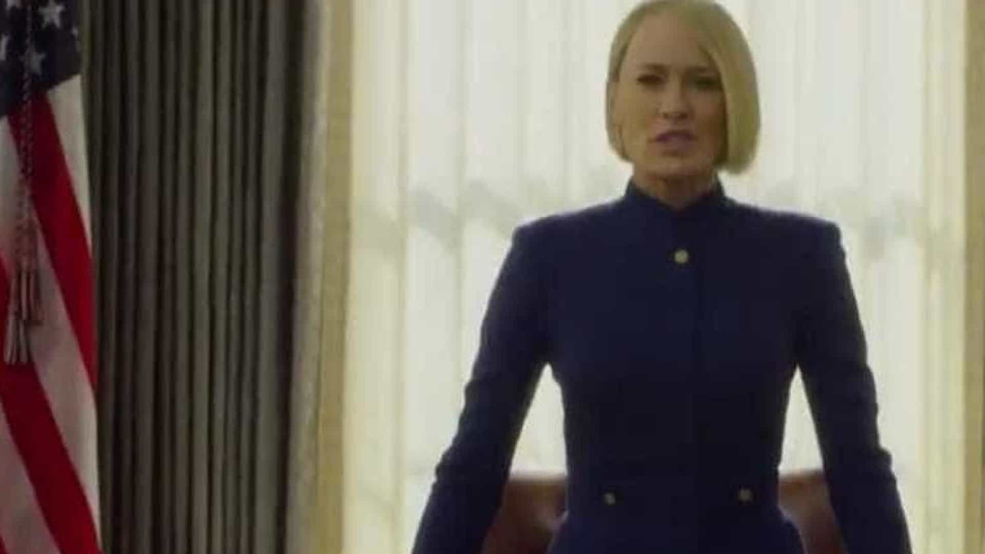 Claire Underwood assume presidência em 1º trailer de House of Cards