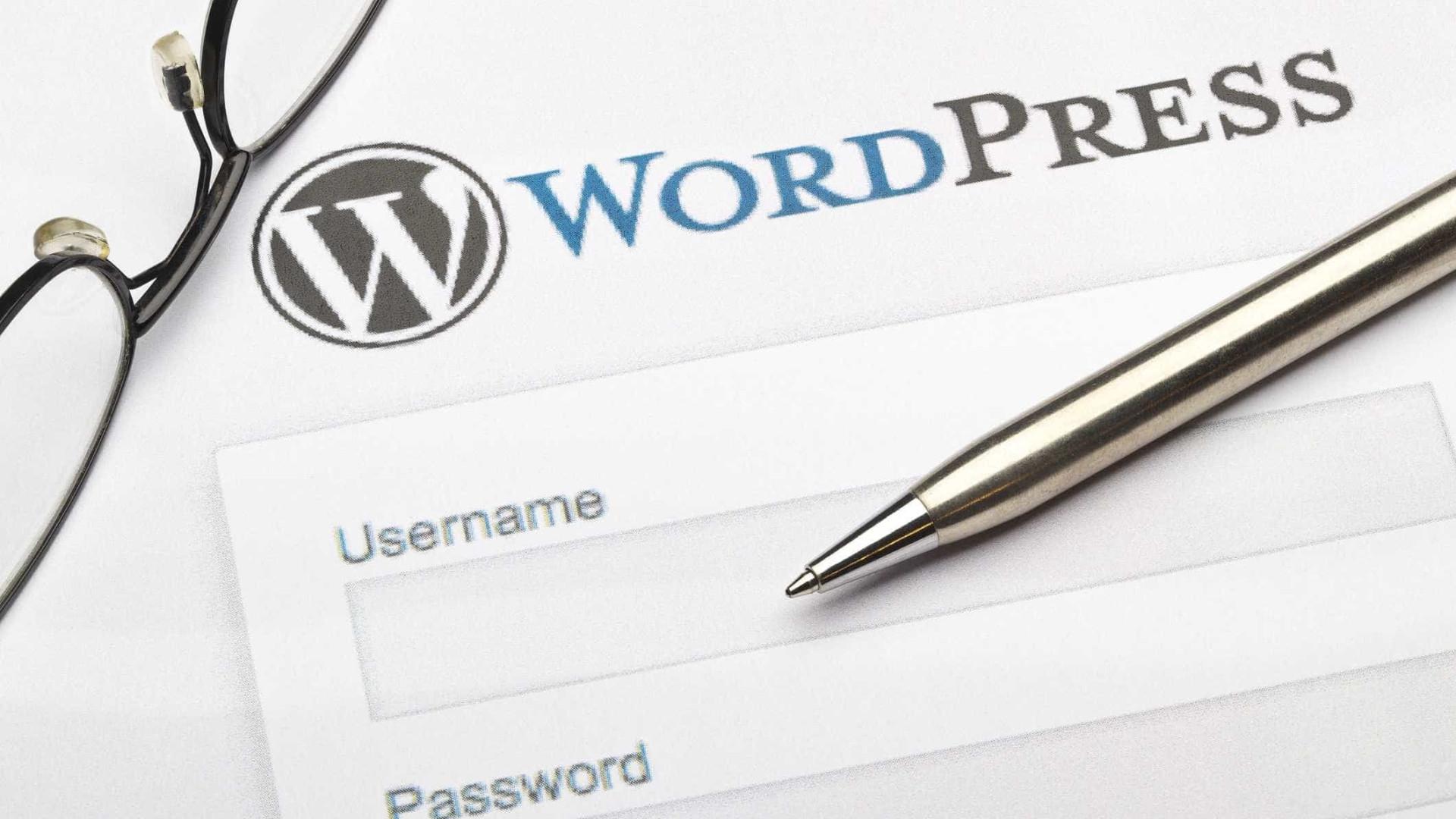 Cerca de 30% dos sites da internet usa WordPress