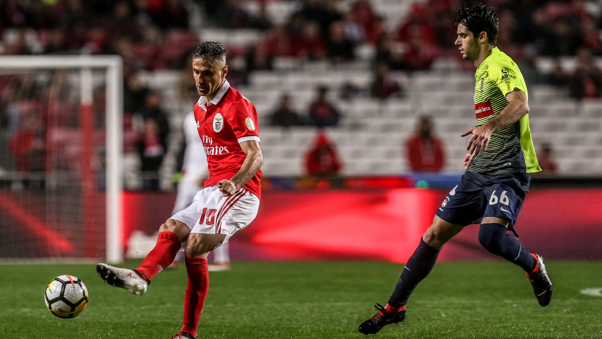Fábio Pacheco está afastado dos treinos