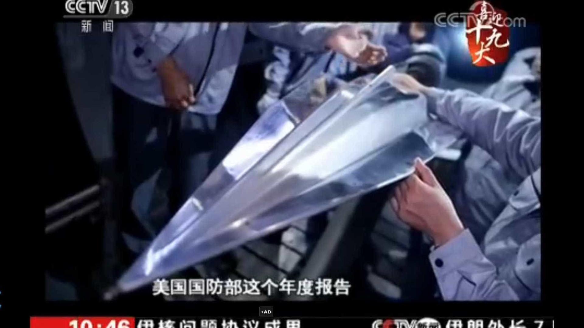 China testa com êxito 'drone' hipersónico para fins militares
