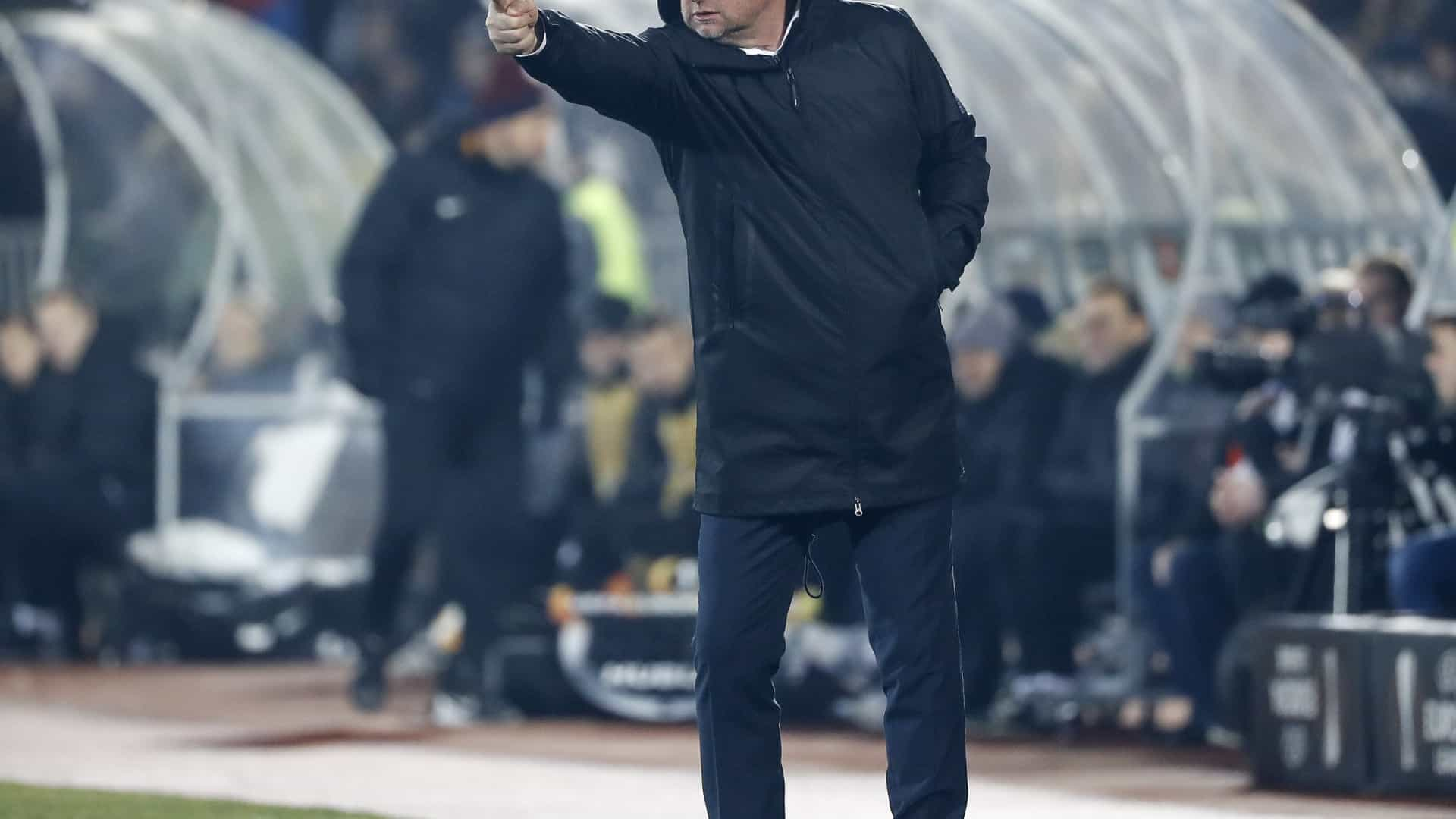 """Desejo do treinador do Plzen? """"Fazer um milagre contra o Sporting"""""""