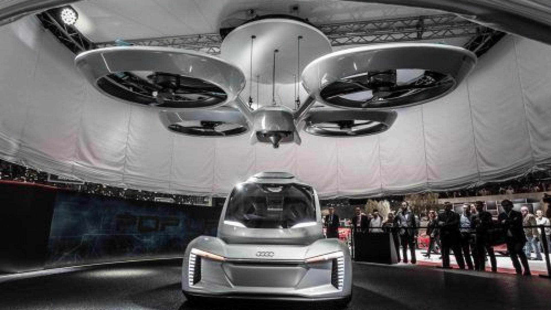 As imagens da nova versão do veículo voador da Airbus, o Pop.Up Next