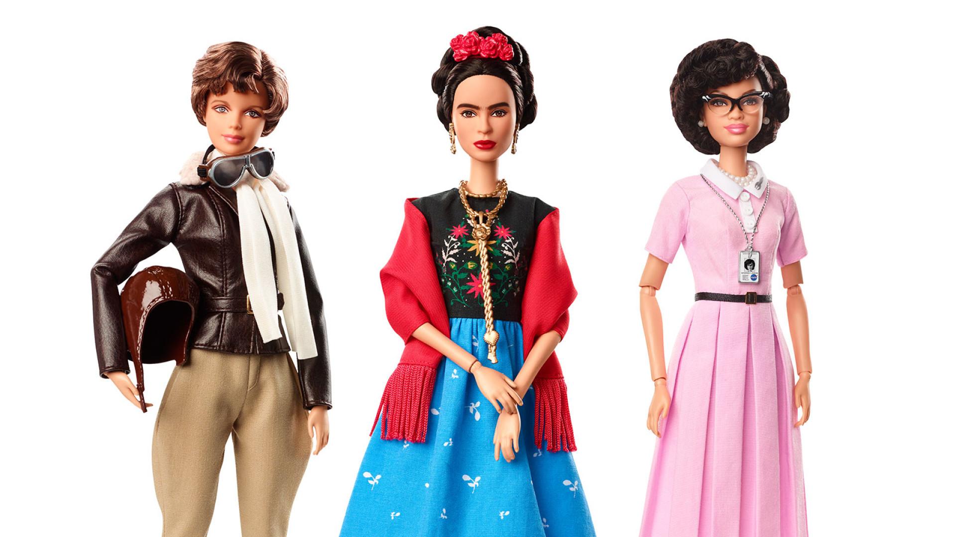Barbie homenageia mulheres inspiradoras