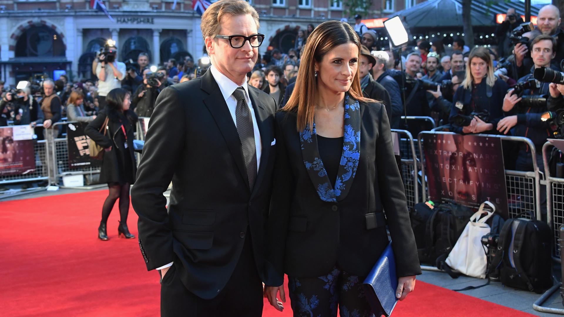"""Colin Firth e esposa viveram em """"clima de terror"""" durante meses"""