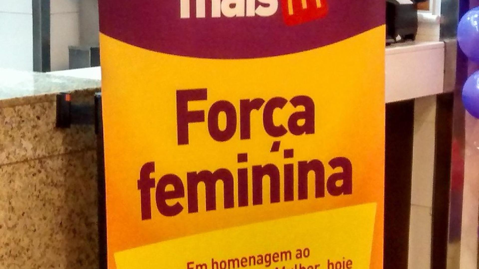 McDonald's no Brasil mete a 'pata na poça' com ação no Dia da Mulher