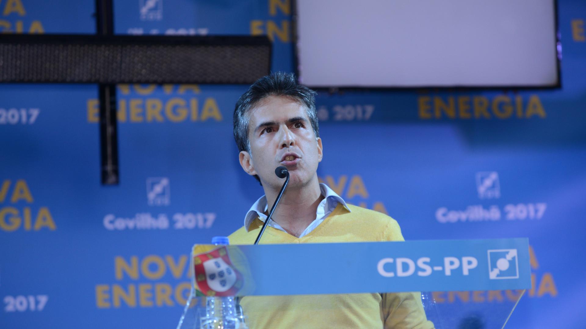 """""""O voto do CDS, e no CDS, não serve para meter no bolso de Costa"""""""