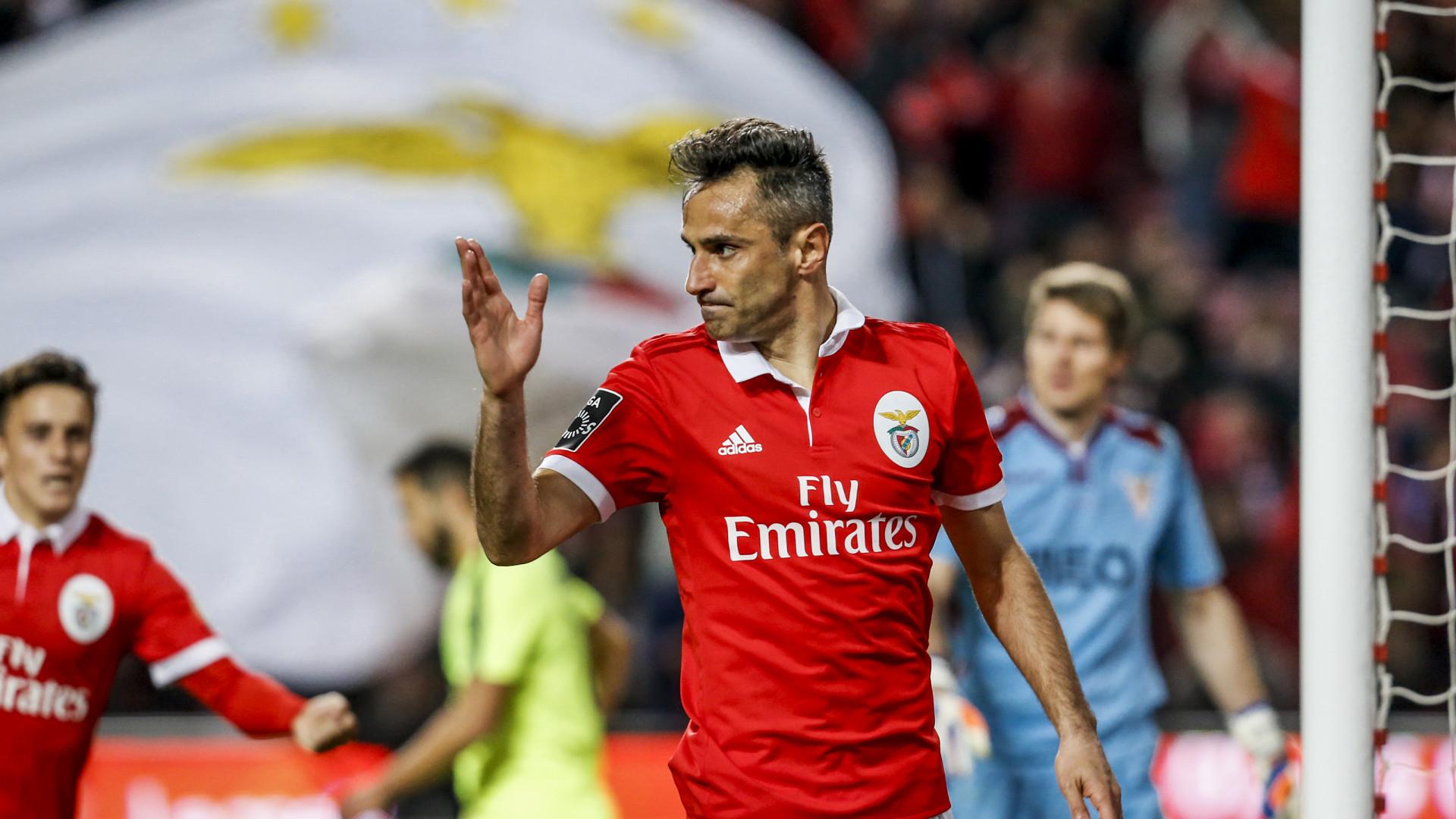 """""""Quero terminar a carreira no Benfica"""""""