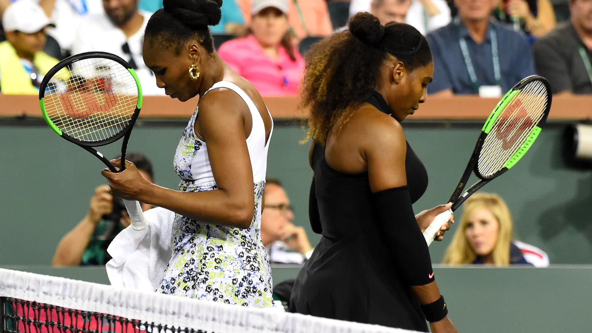 Quatro anos depois Venus levou a melhor no dérbi das irmãs Williams