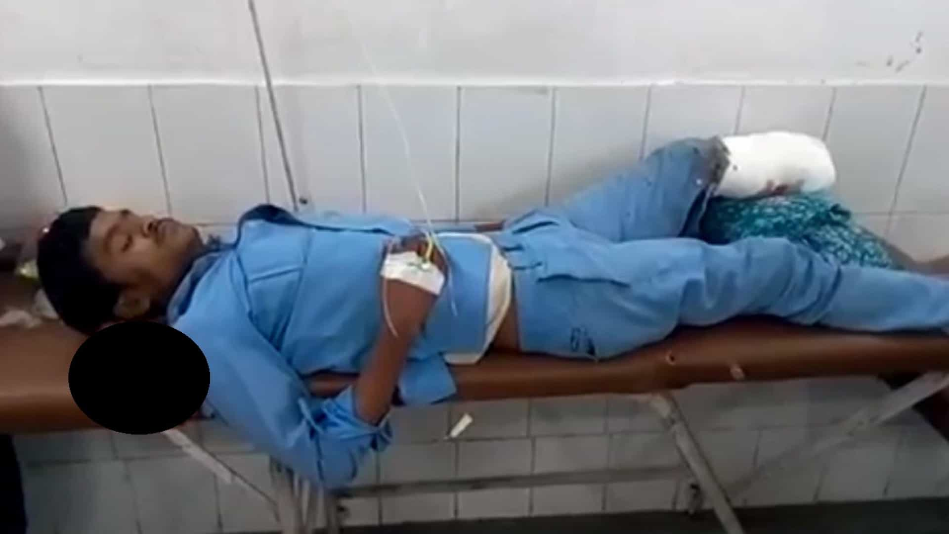 Investigado hospital que usou pé amputado de paciente como almofada