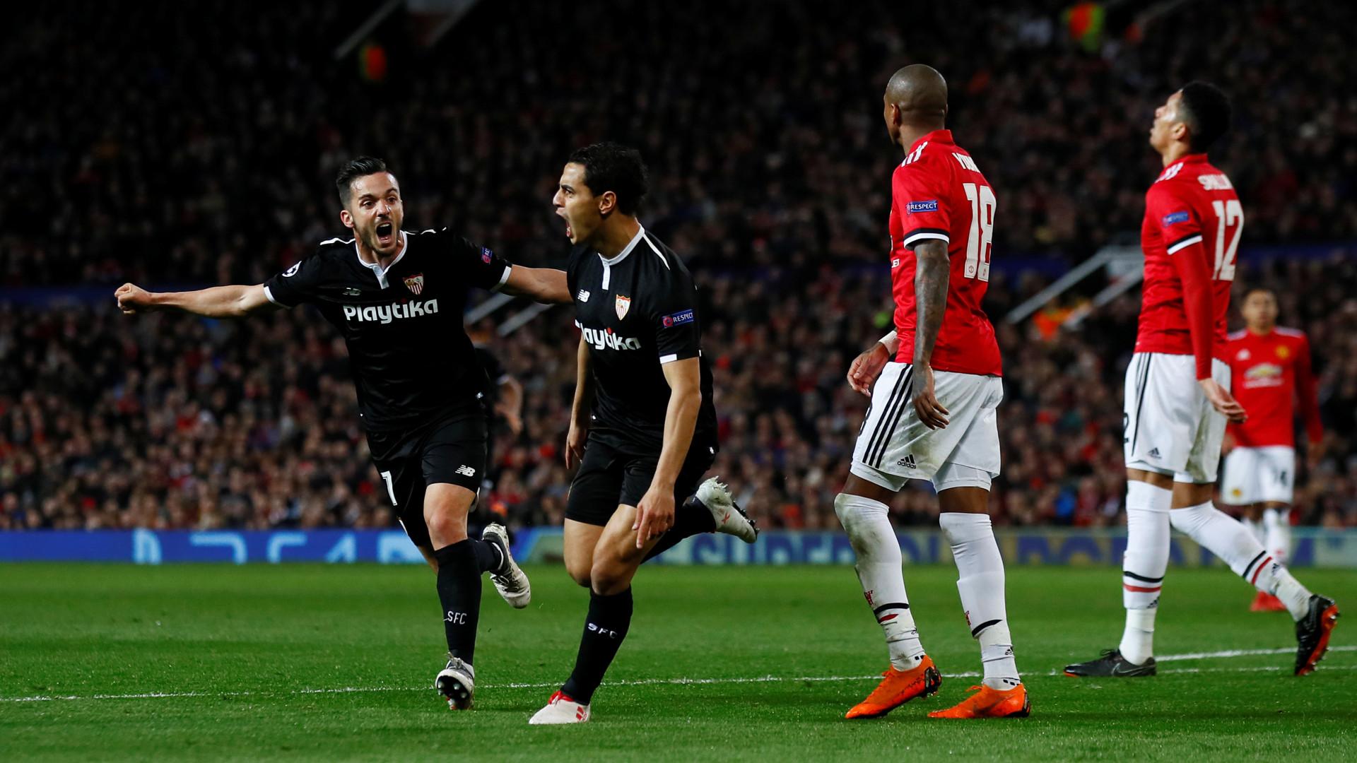 Ben Yedder e companhia eliminam United de Mourinho em Old Trafford