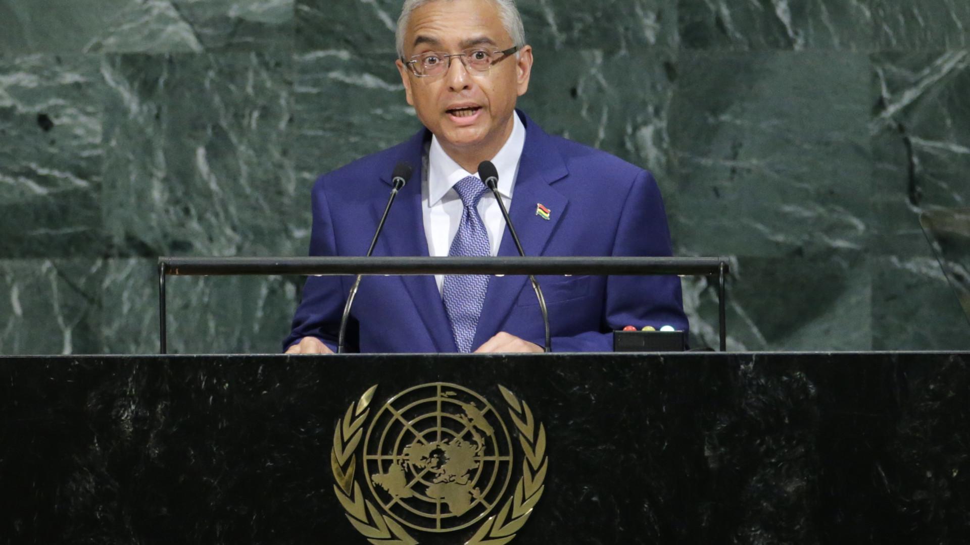 Presidente da Maurícia recusa demitir-se por alegado escândalo financeiro