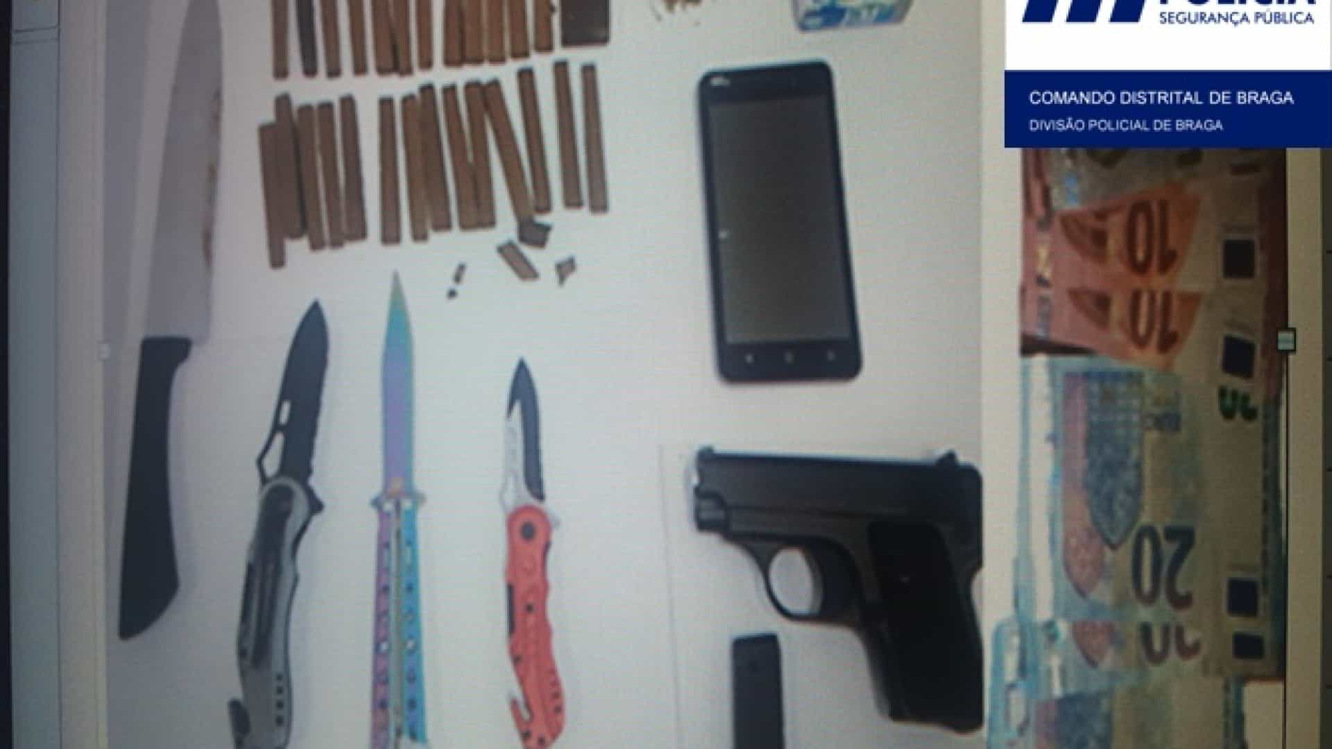 """Detido jovem que vendia droga à """"comunidade escolar"""" em Barcelos"""