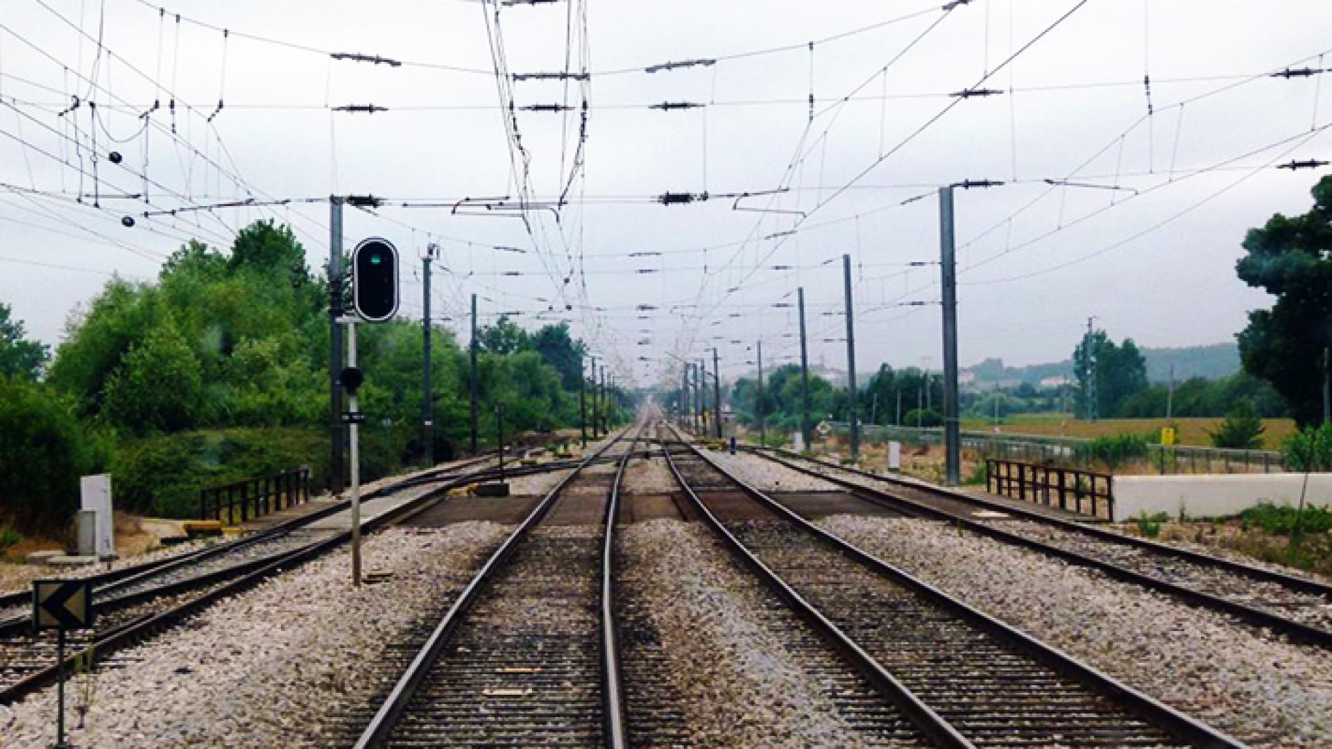 Comboio de mercadorias descarrilou no Norte. Circulação normalizada