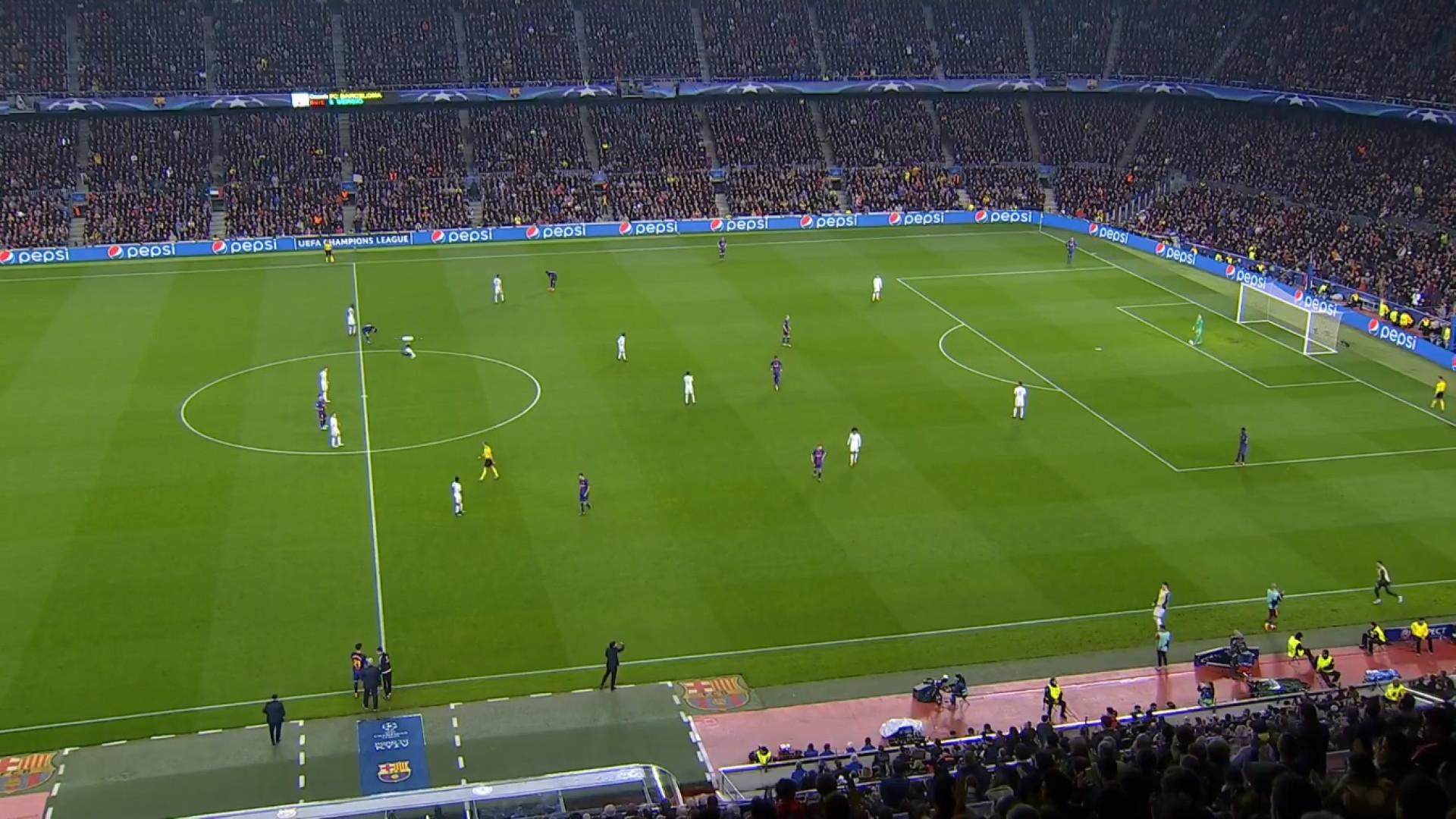 Camp Nou 'socorreu' André Gomes em hora de maior necessidade