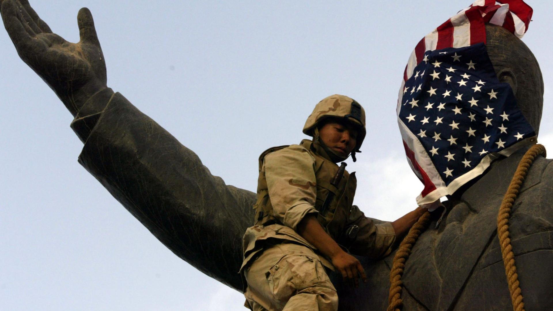 """EUA invadiram Iraque há 15 anos. """"Como é que se deixou aquilo acontecer?"""""""