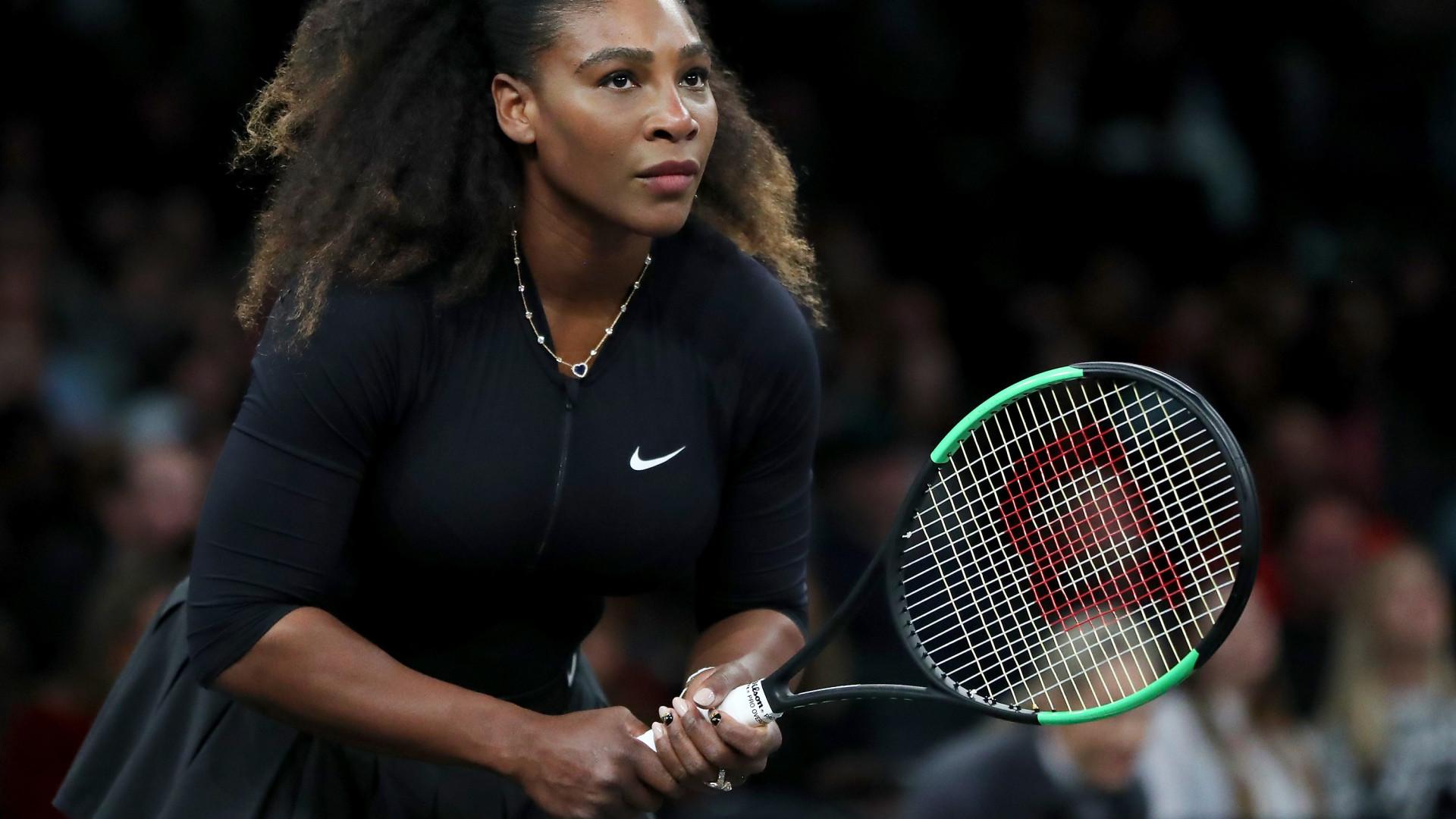 Tenista Serena Williams lança linha própria de maquilhagem